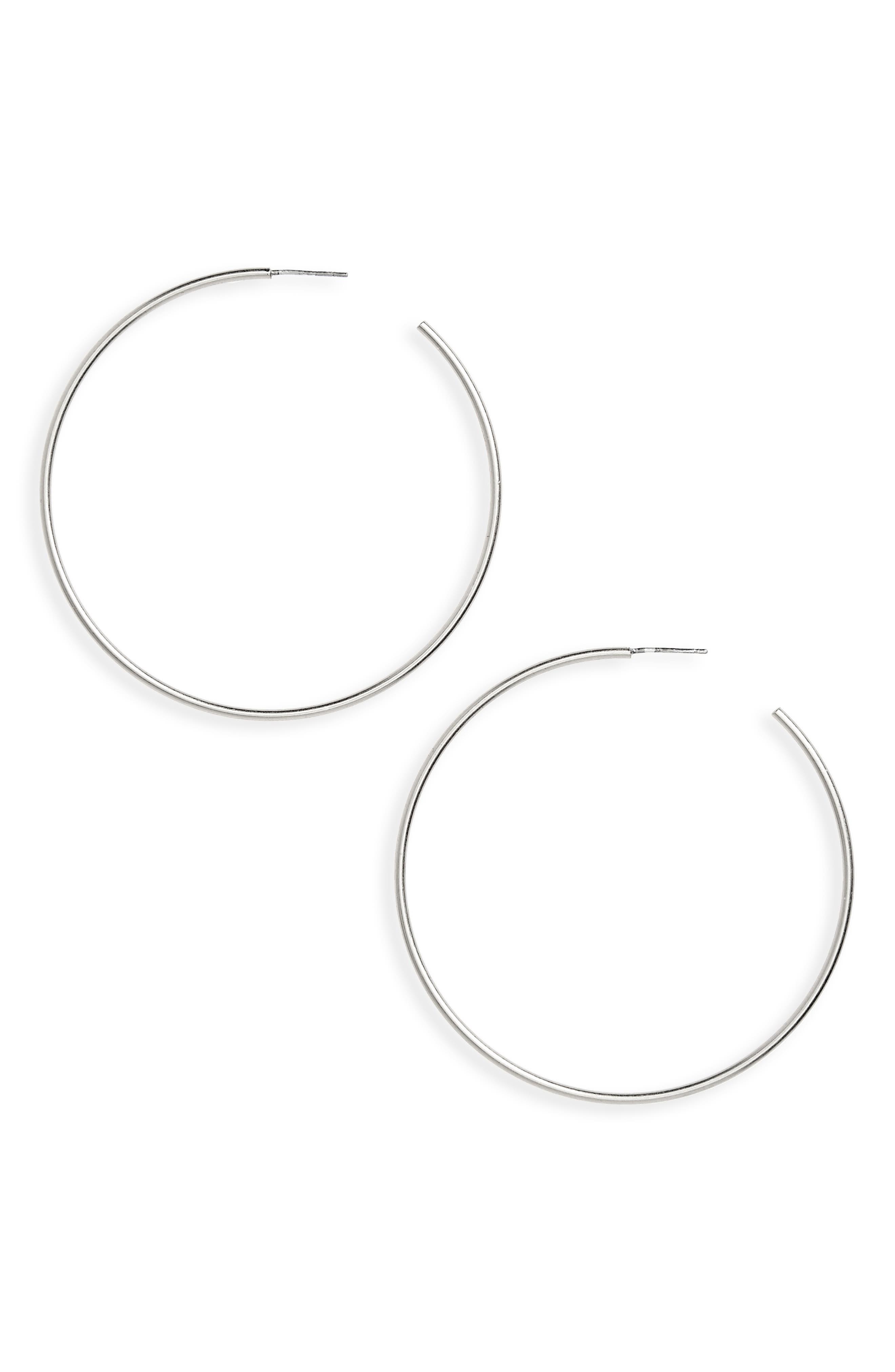 Hoop Earrings,                         Main,                         color,