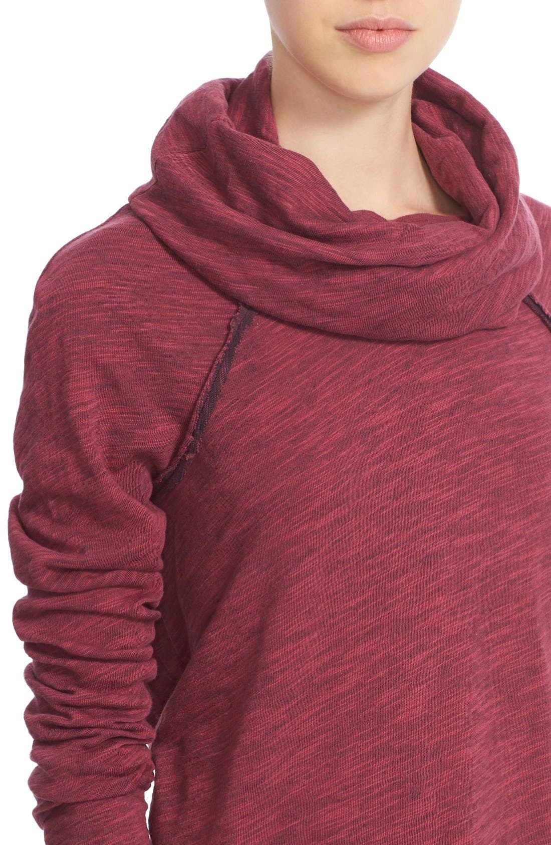 'Beach Cocoon' Cowl Neck Pullover,                             Alternate thumbnail 47, color,