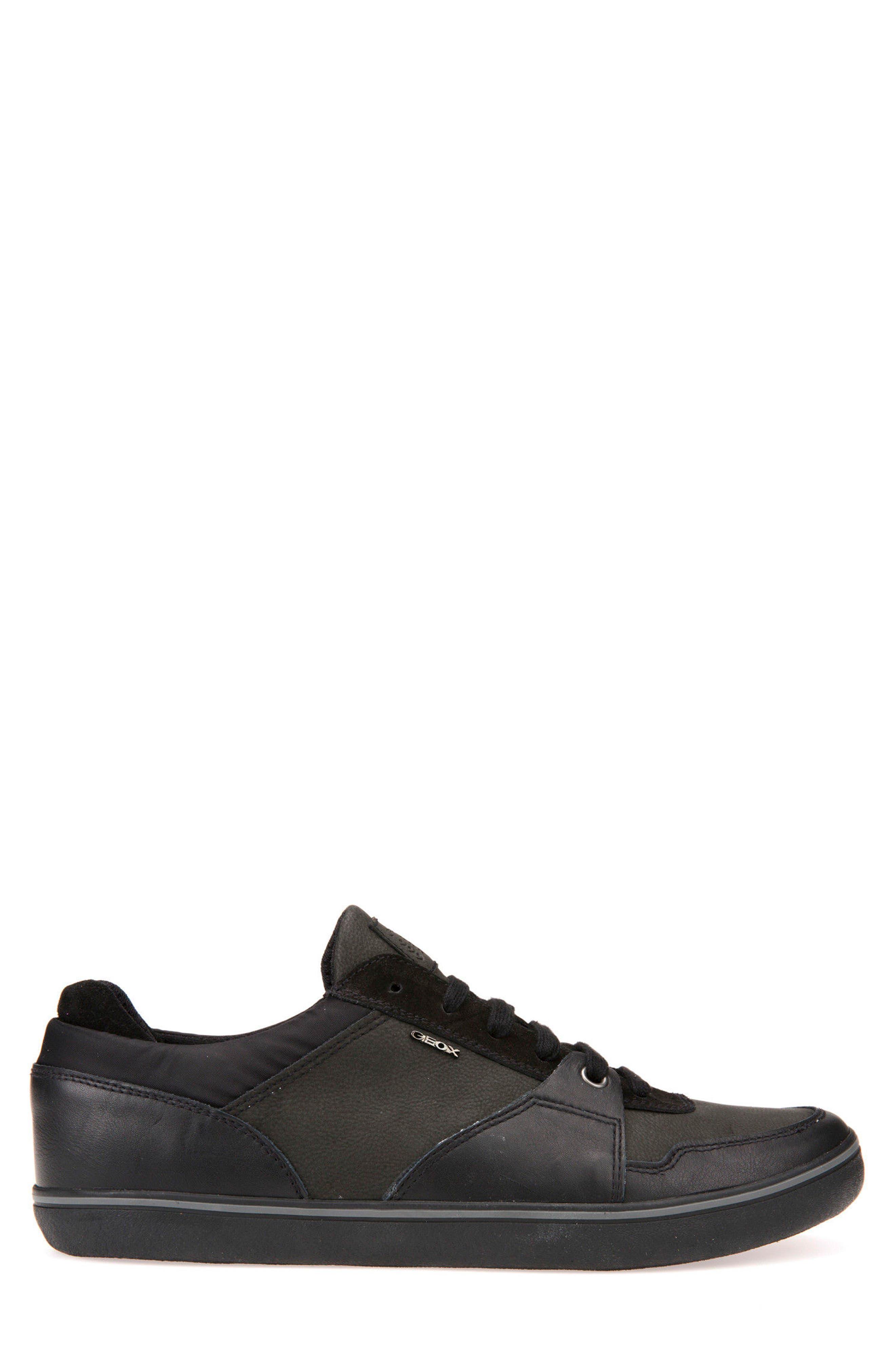 Box 28 Low-Profile Sneaker,                             Alternate thumbnail 3, color,                             BLACK