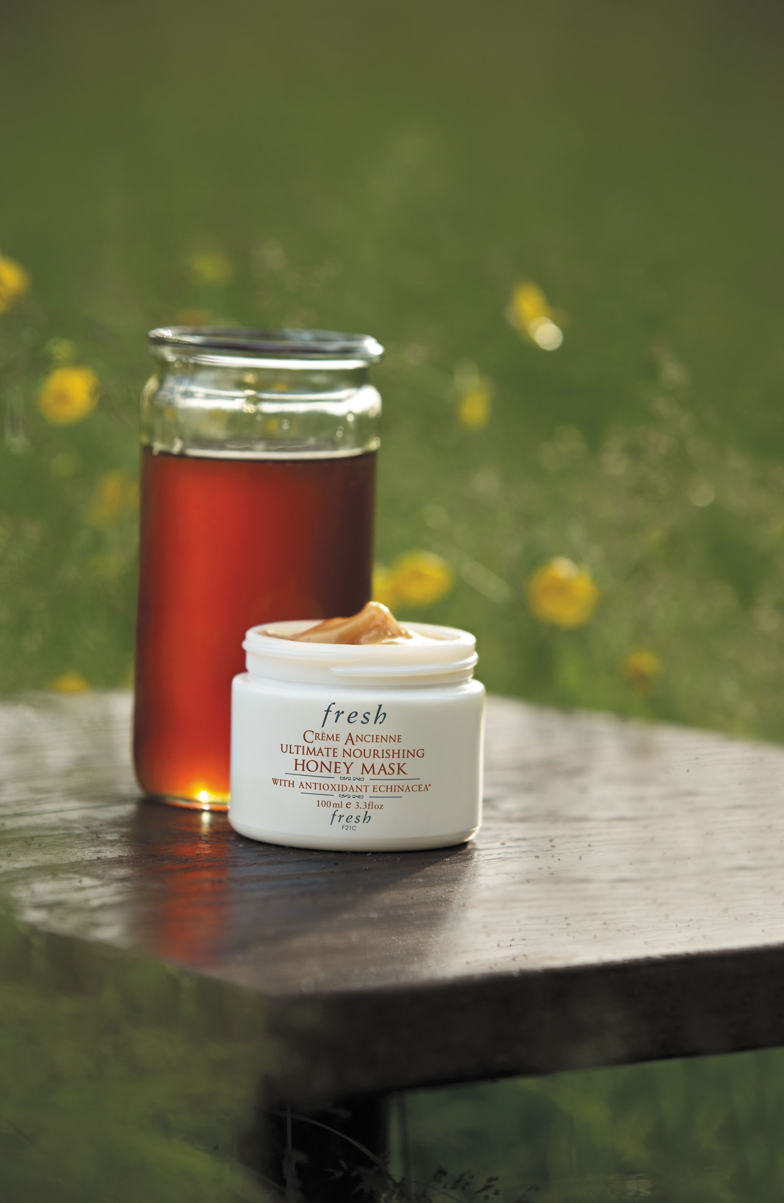 FRESH<SUP>®</SUP>,                             Crème Ancienne<sup>®</sup> Ultimate Nourishing Honey Mask,                             Alternate thumbnail 2, color,                             NO COLOR
