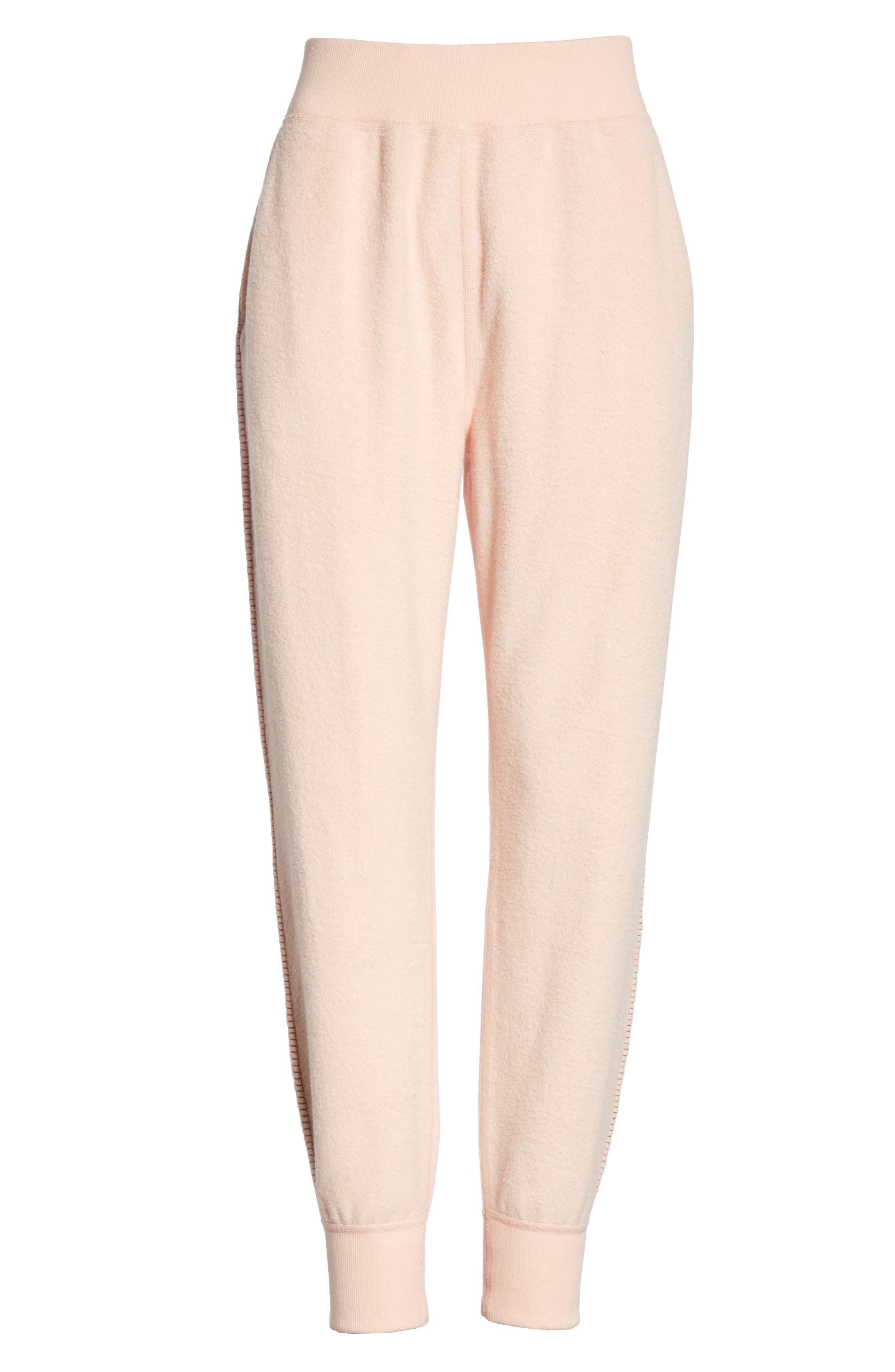 rag & bone Inside Out Brushed Terry Pants,                             Alternate thumbnail 7, color,                             666