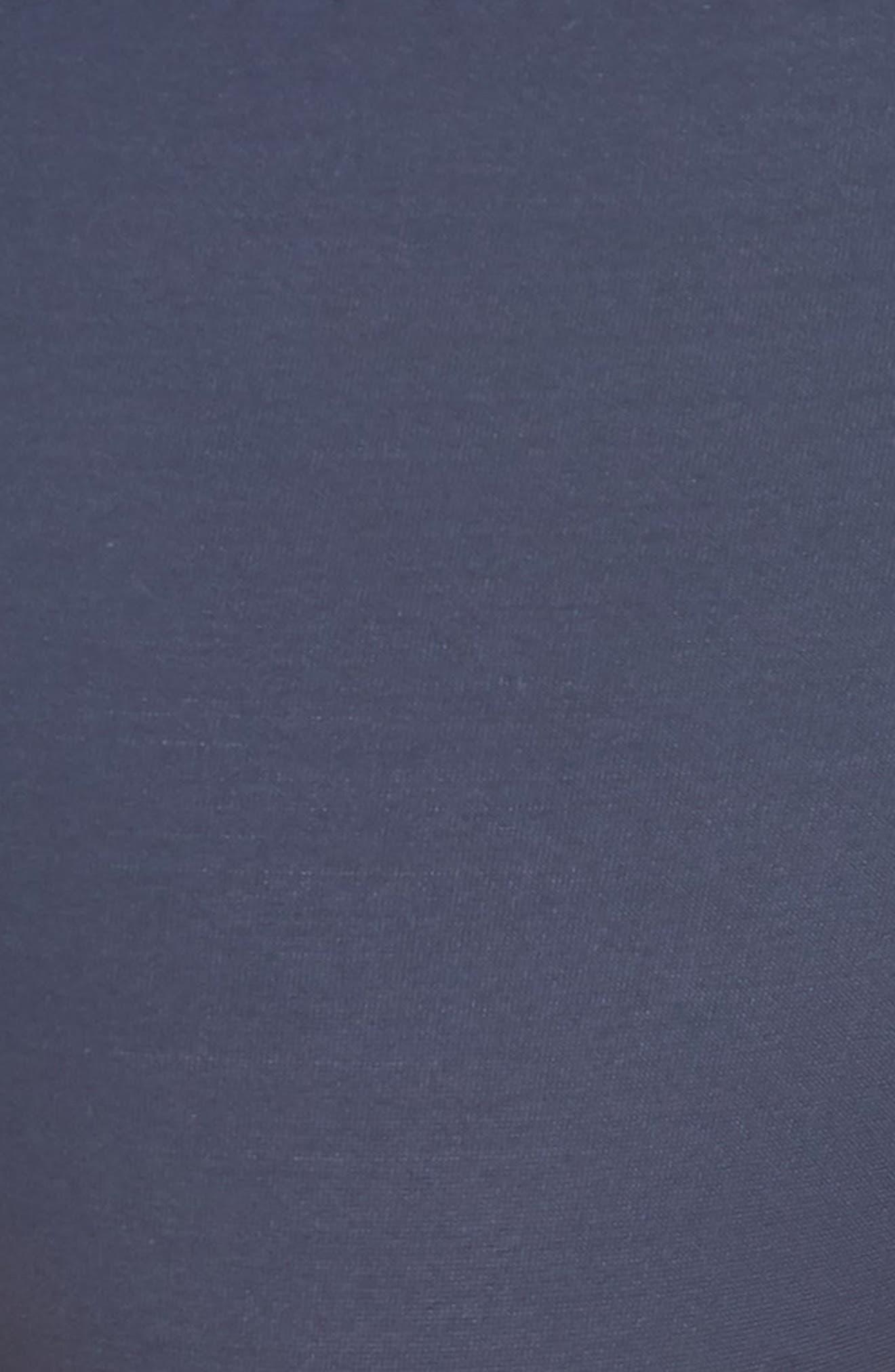 'Caresse' Lace Tanga Briefs,                             Alternate thumbnail 5, color,                             INDIGO