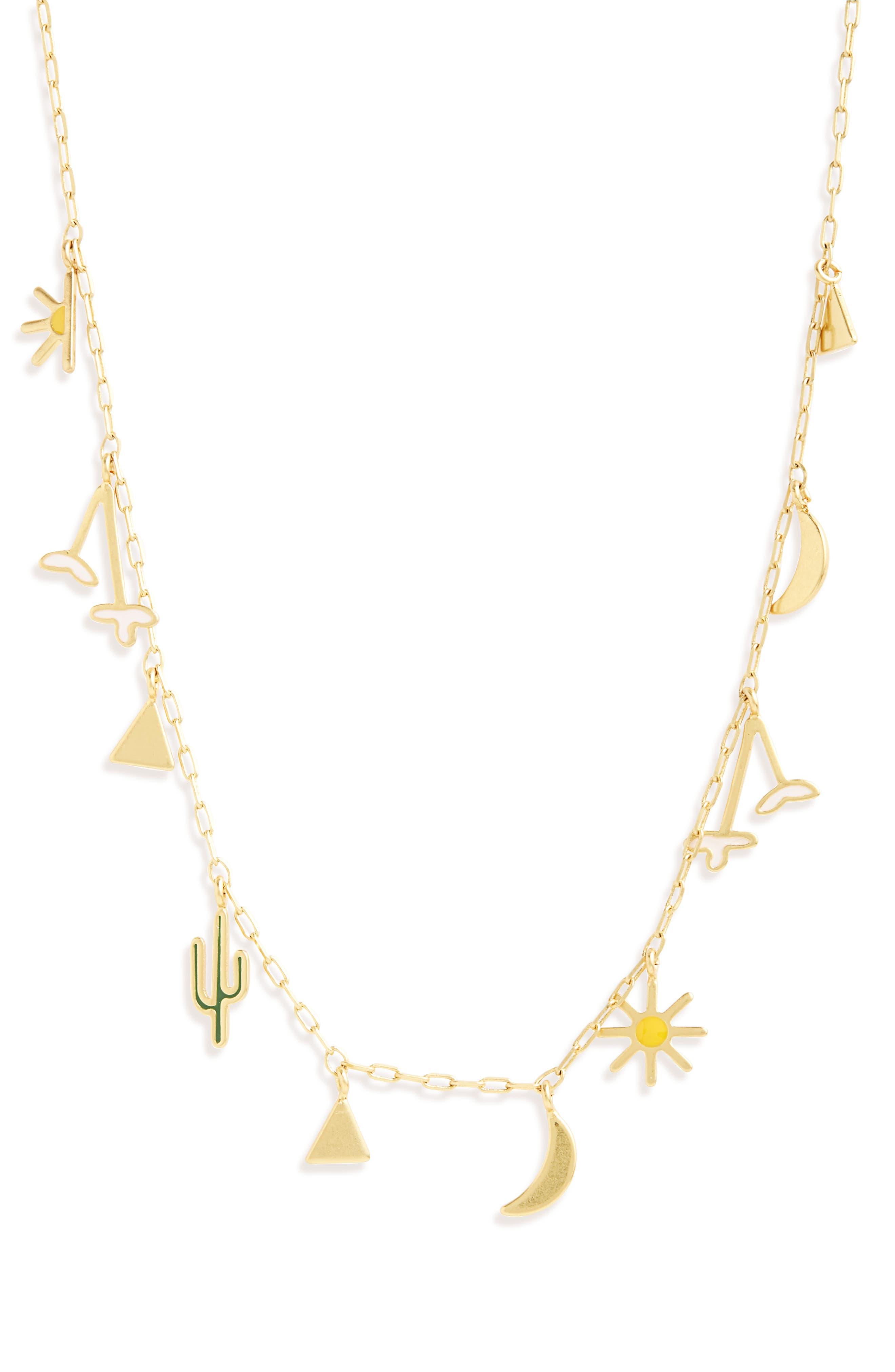 Primal Charm Necklace,                         Main,                         color, 718