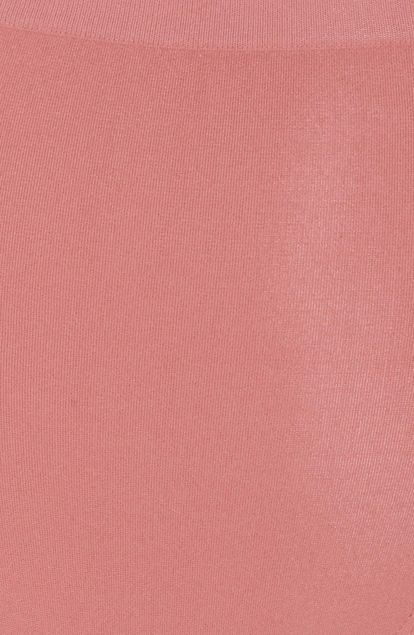 High Waist Seamless Briefs,                             Alternate thumbnail 5, color,                             PINK TAFFY