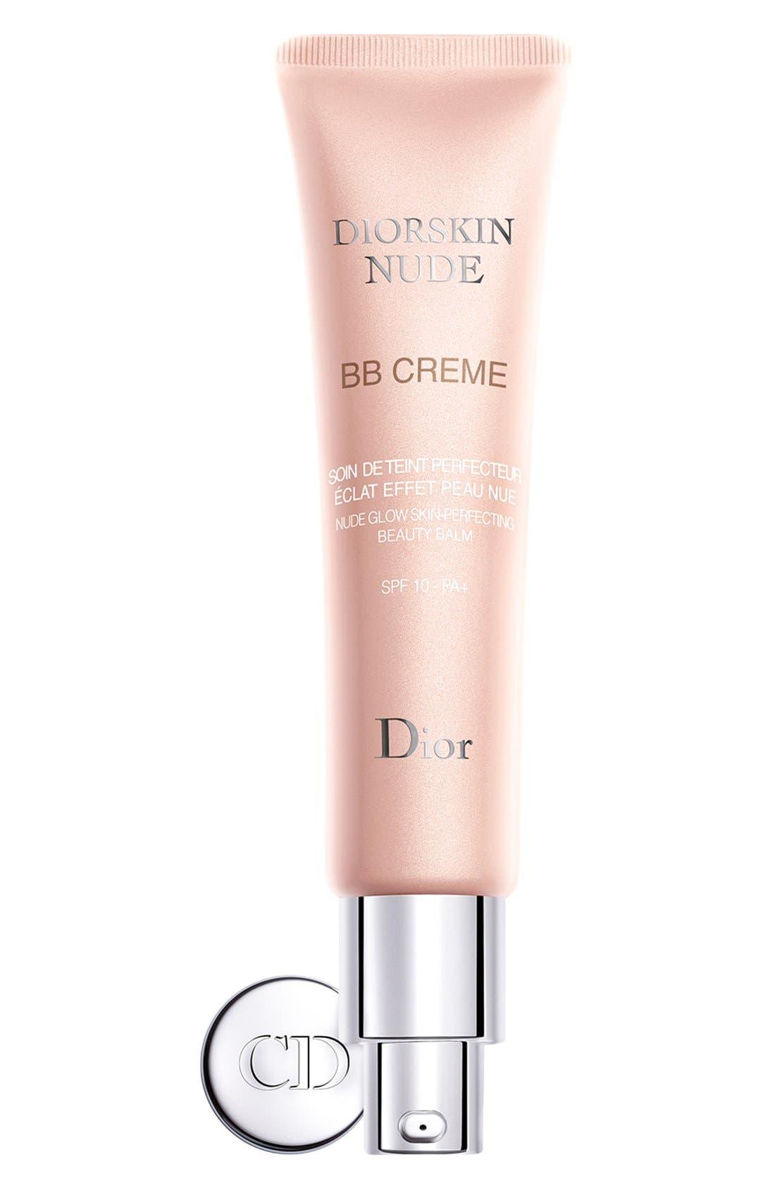 'Diorskin Nude' BB Creme Broad Spectrum SPF 10,                         Main,                         color, 250