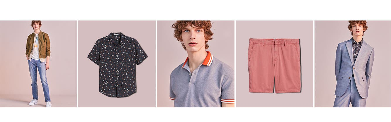 Men's clothing that hits the refresh button on your spring wardrobe.