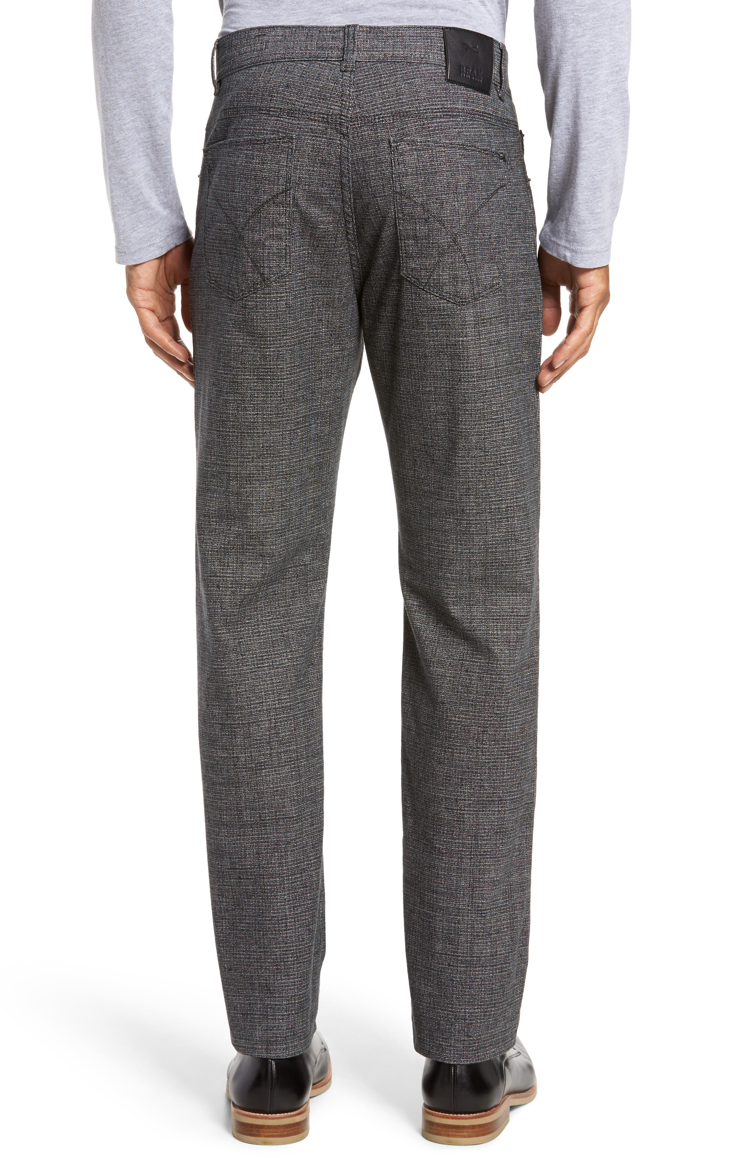 Cotton Blend Five-Pocket Trousers,                             Alternate thumbnail 2, color,                             005