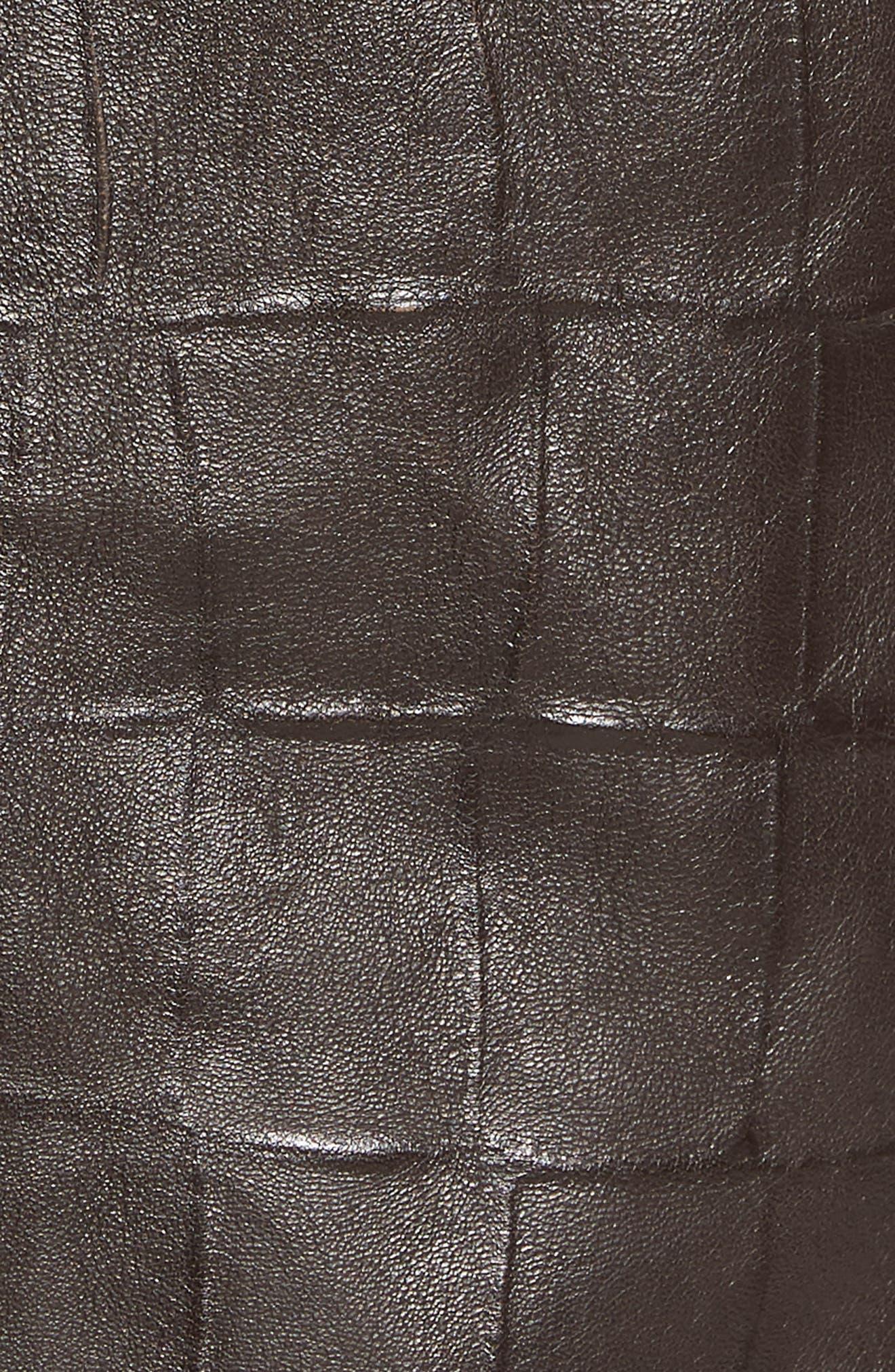 Corson Genuine Shearling Jacket,                             Alternate thumbnail 6, color,                             BROWN