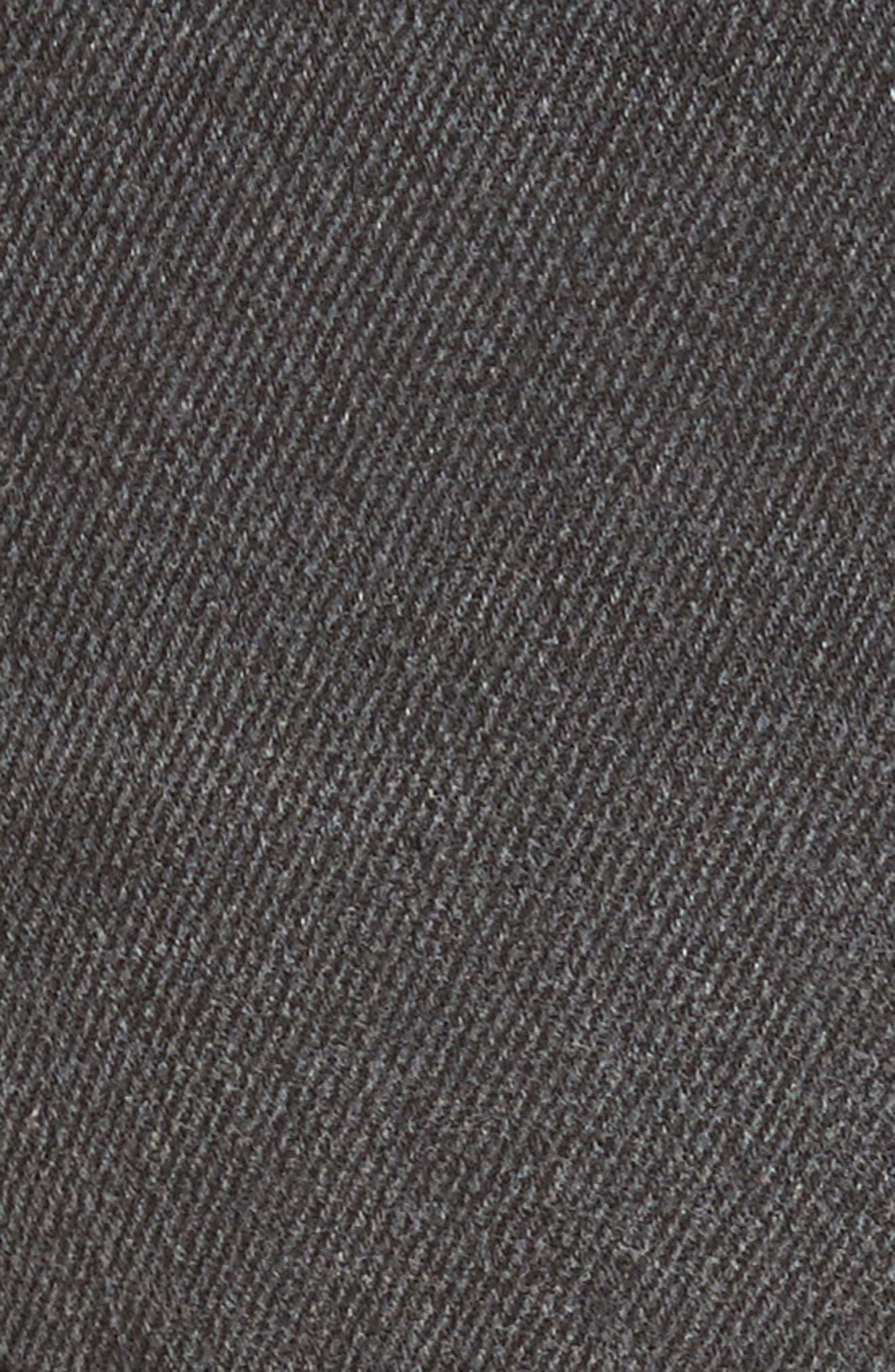 Sashed & Relaxed Cutoff Denim Shorts,                             Alternate thumbnail 6, color,                             001