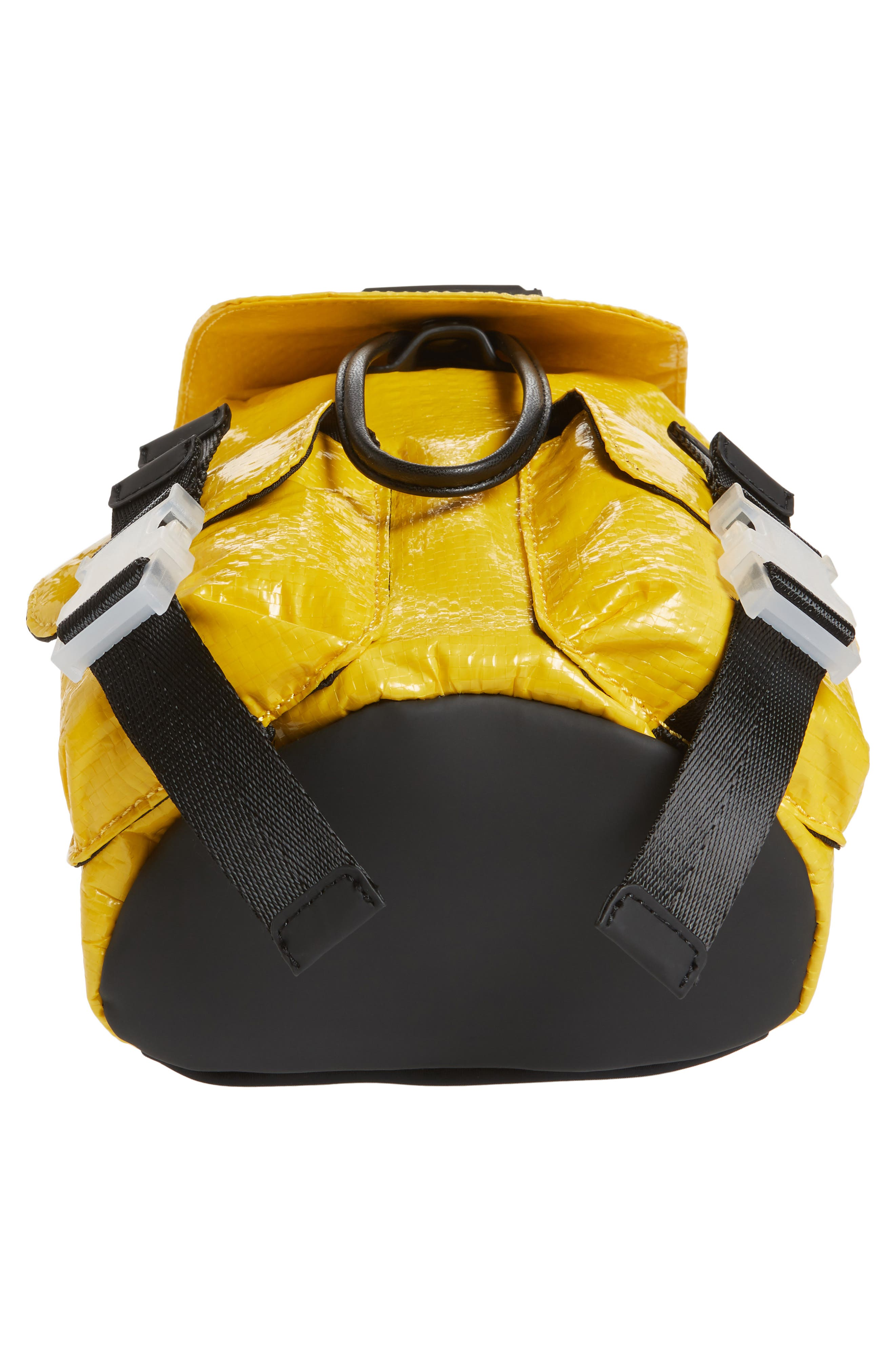 Mini Parker Water Resistant Backpack,                             Alternate thumbnail 6, color,                             YELLOW
