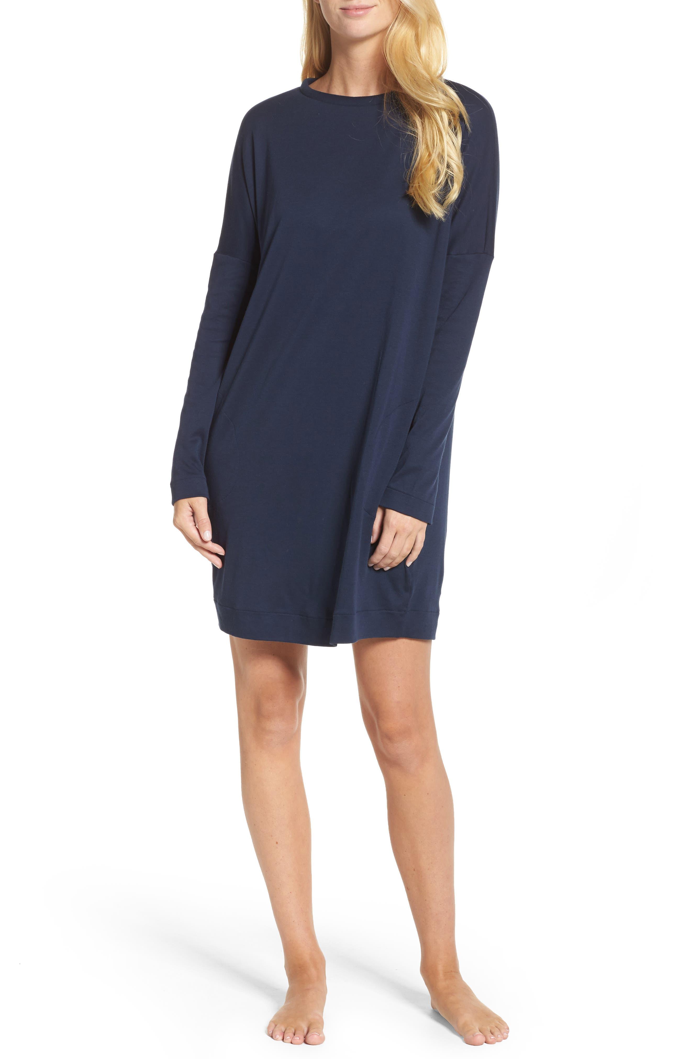 Enie Cotton Nightgown,                         Main,                         color, 433