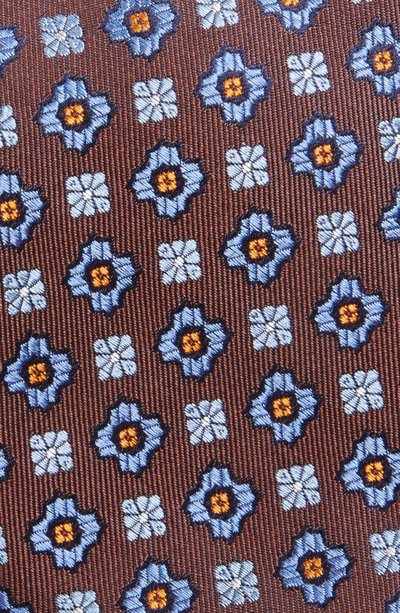 Medallion Silk Tie,                             Alternate thumbnail 2, color,                             200