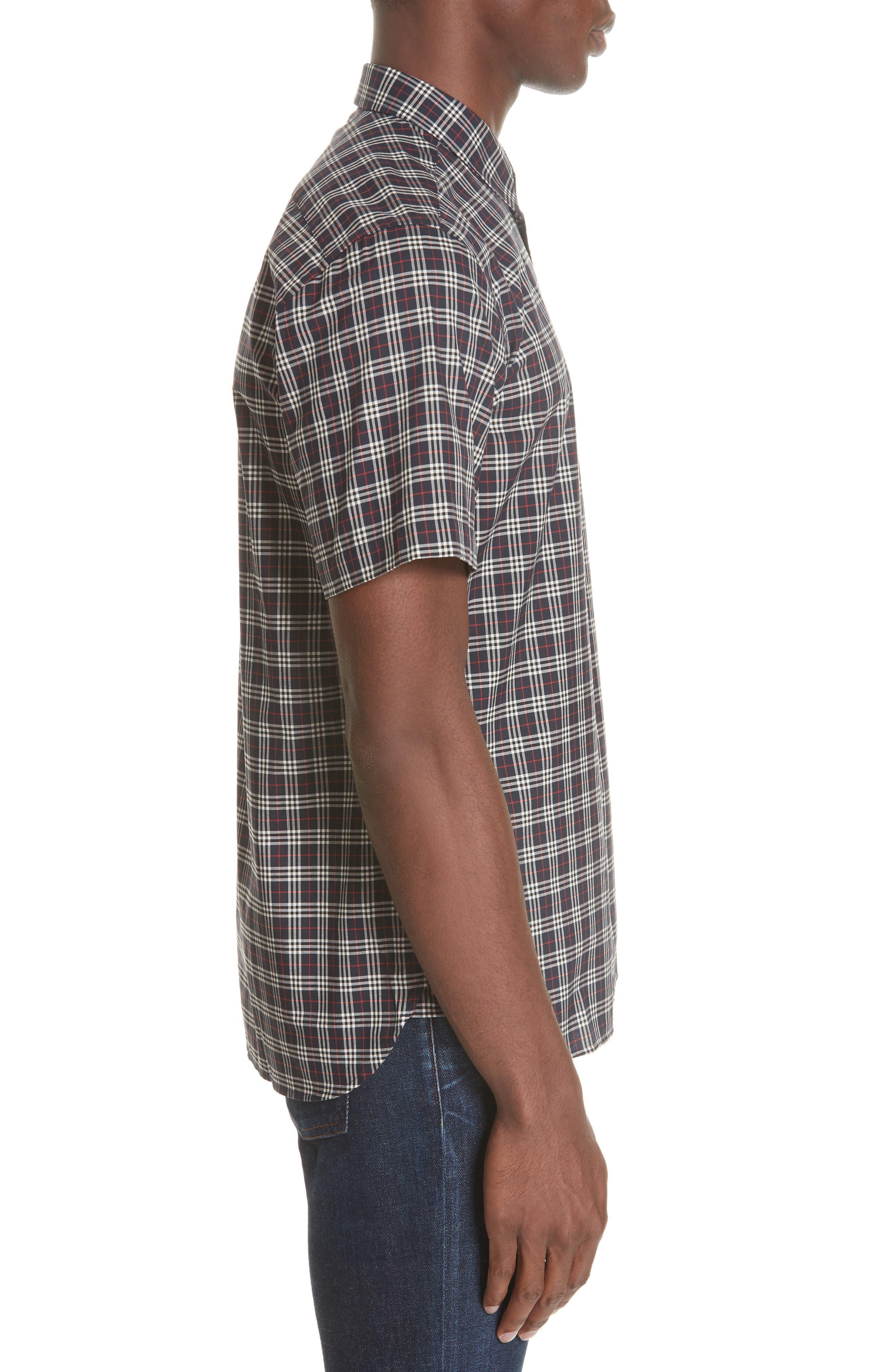 Edward Short Sleeve Shirt,                             Alternate thumbnail 4, color,                             400