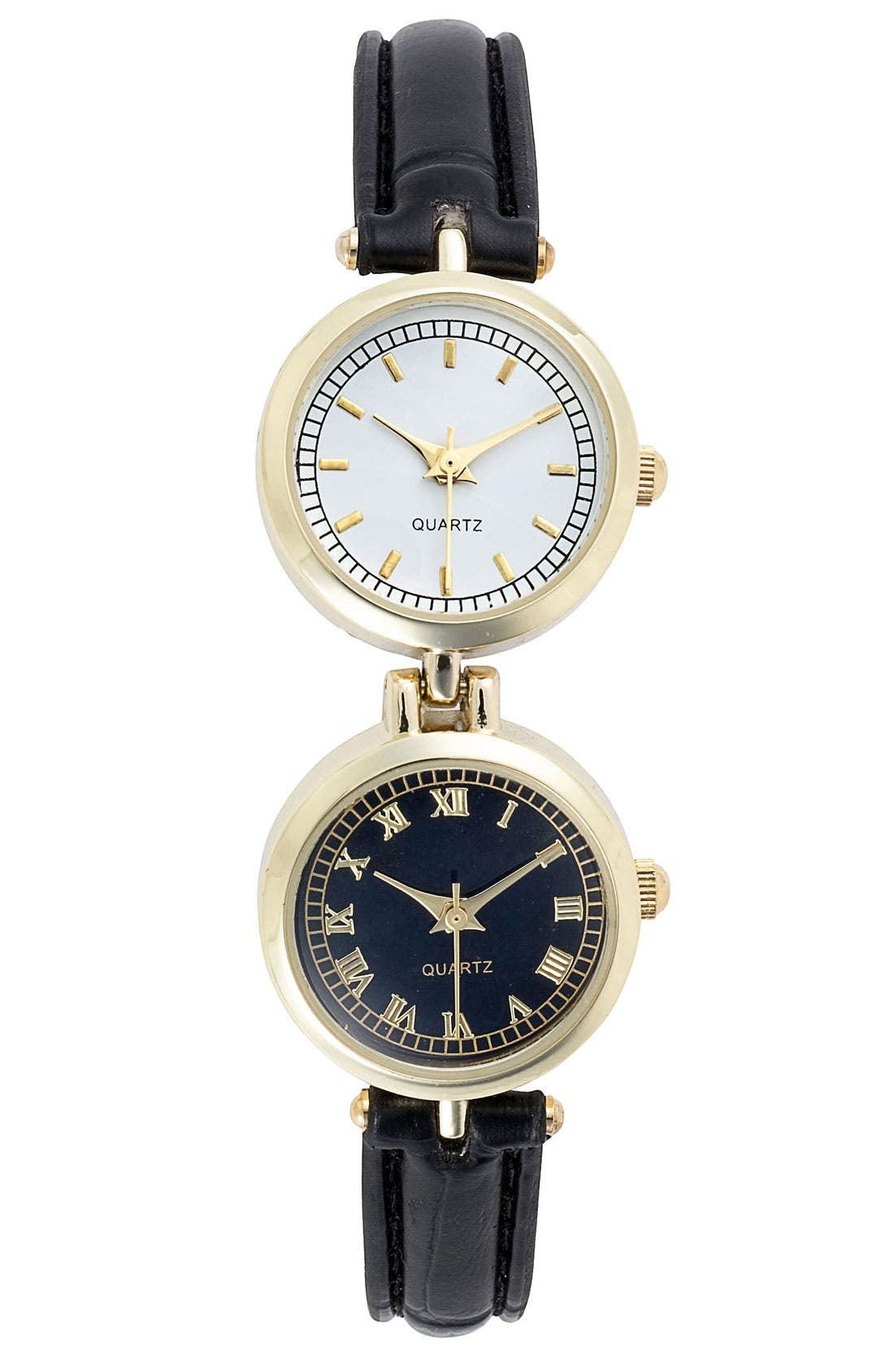 Two Face Watch, 20mm,                             Main thumbnail 1, color,                             001