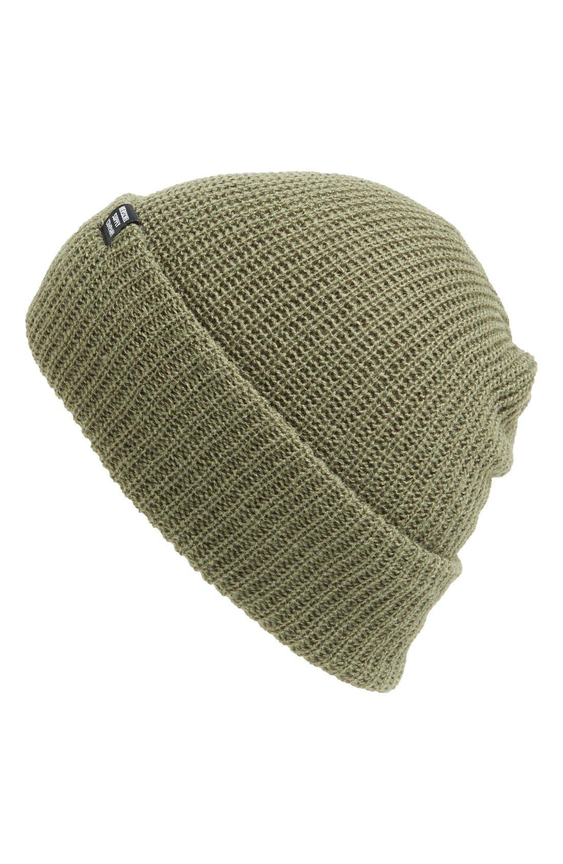 'Quartz' Solid Knit Cap,                             Main thumbnail 5, color,