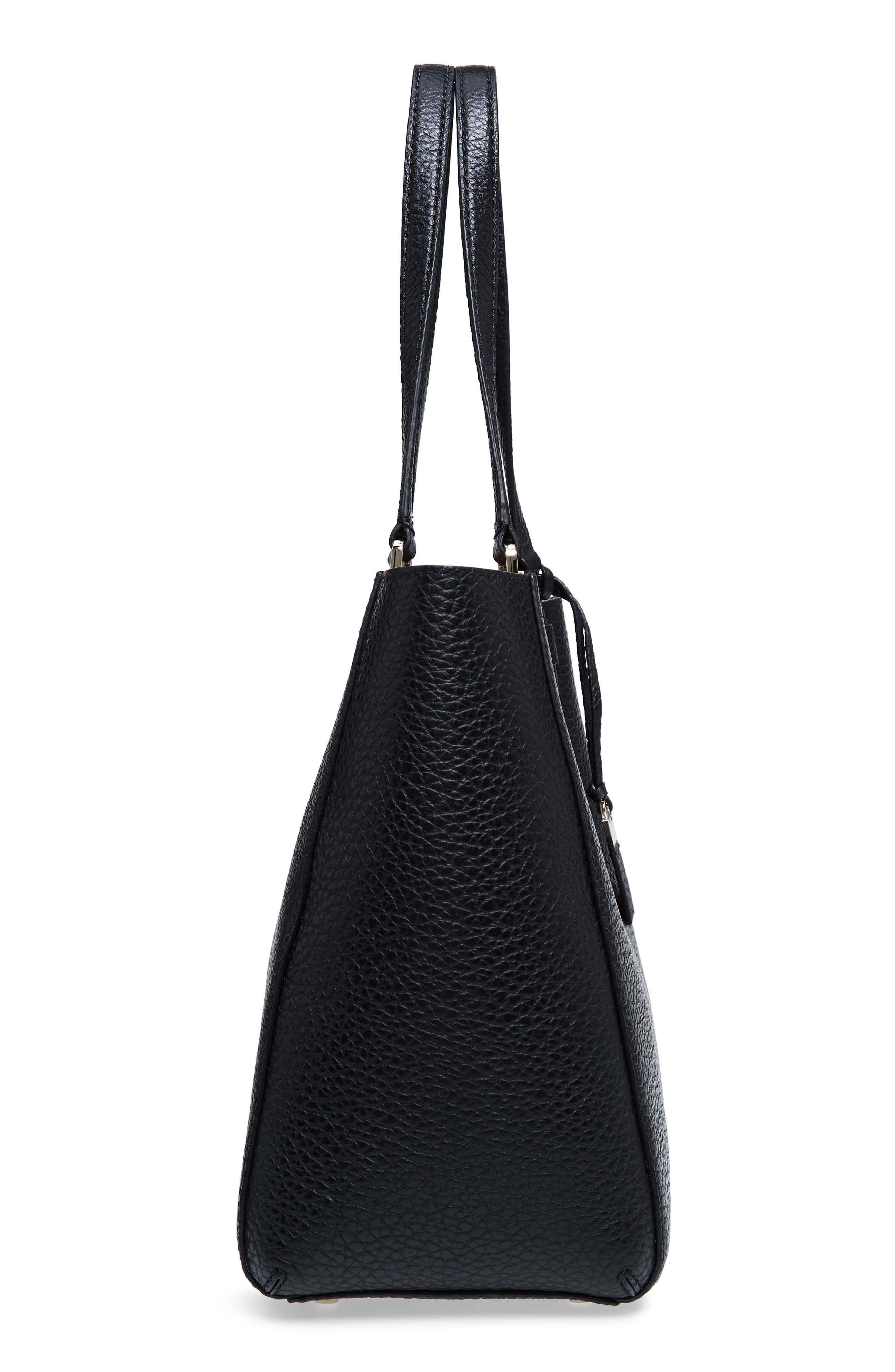 carter street - tyler leather tote,                             Alternate thumbnail 18, color,