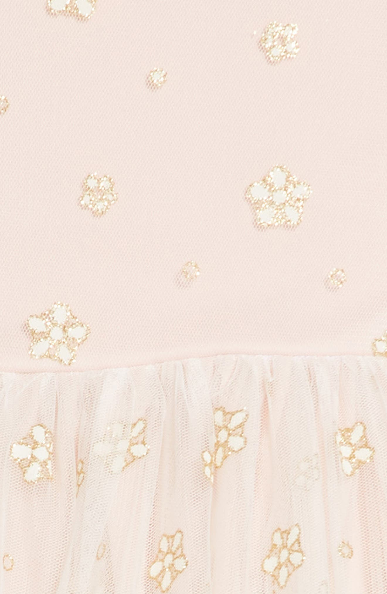 Glitter Mesh Tulle Dress,                             Alternate thumbnail 3, color,                             900