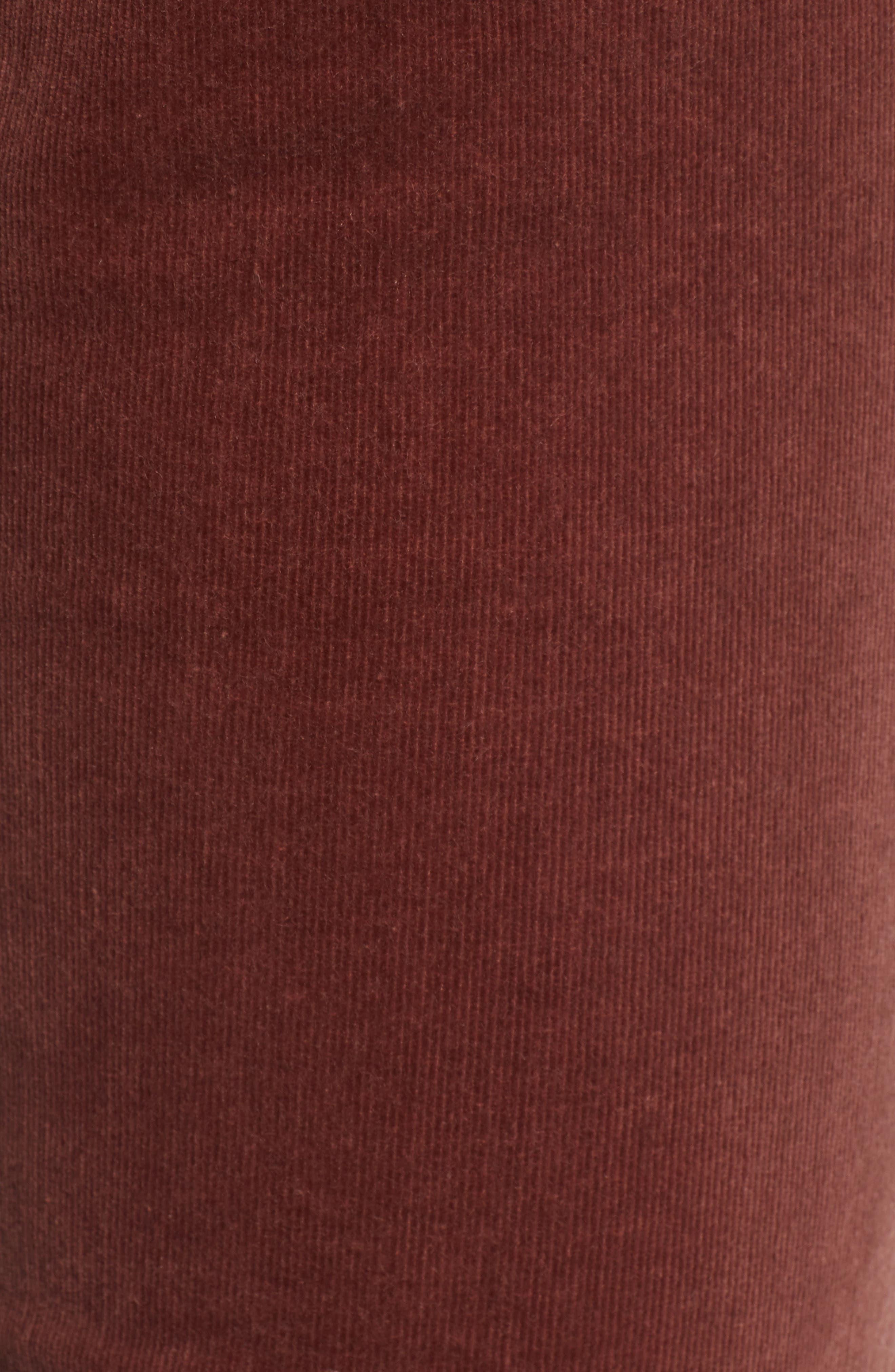 'Diana' Stretch Corduroy Skinny Pants,                             Alternate thumbnail 218, color,