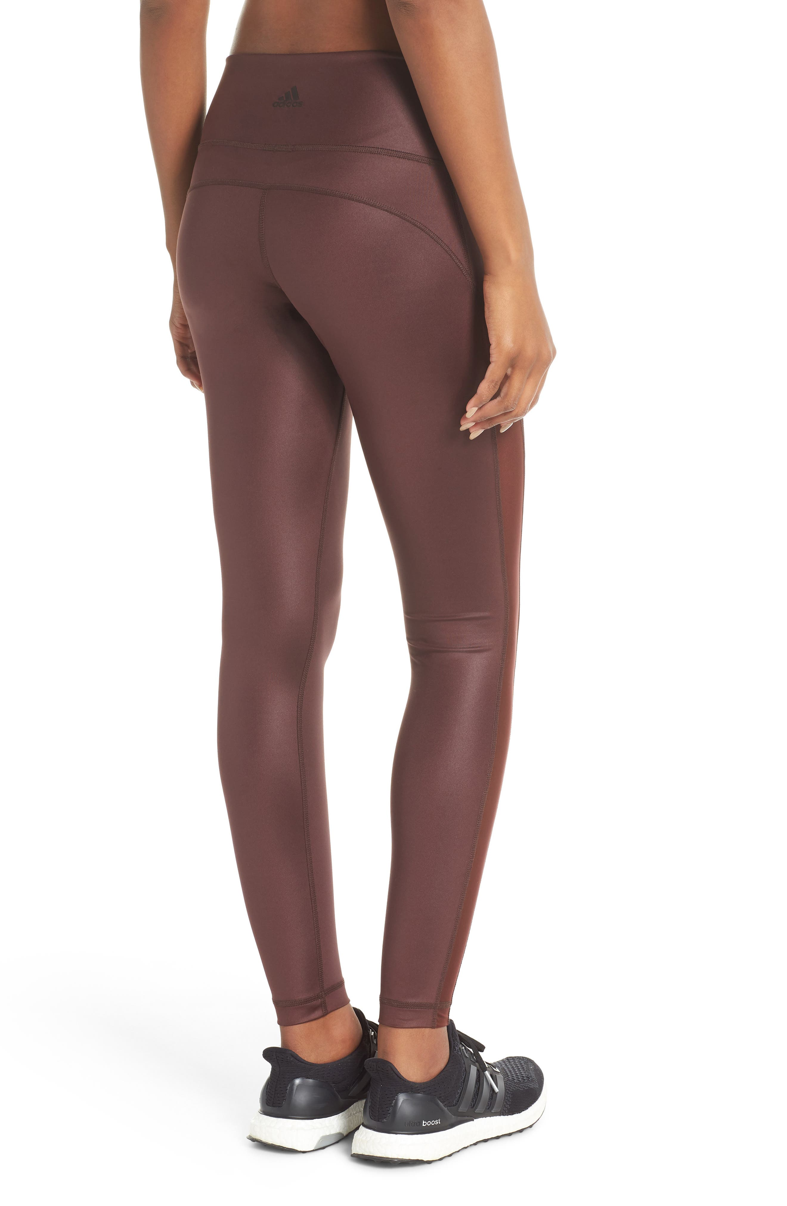 Believe This Leggings,                             Alternate thumbnail 2, color,                             NIGHT RED