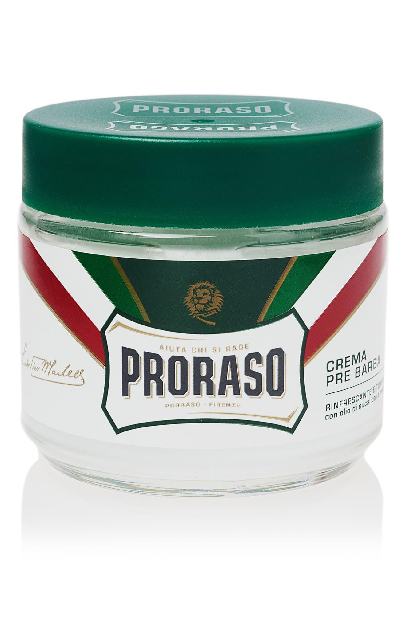 'Proraso' Refresh Pre-Shave Cream,                             Main thumbnail 1, color,                             000