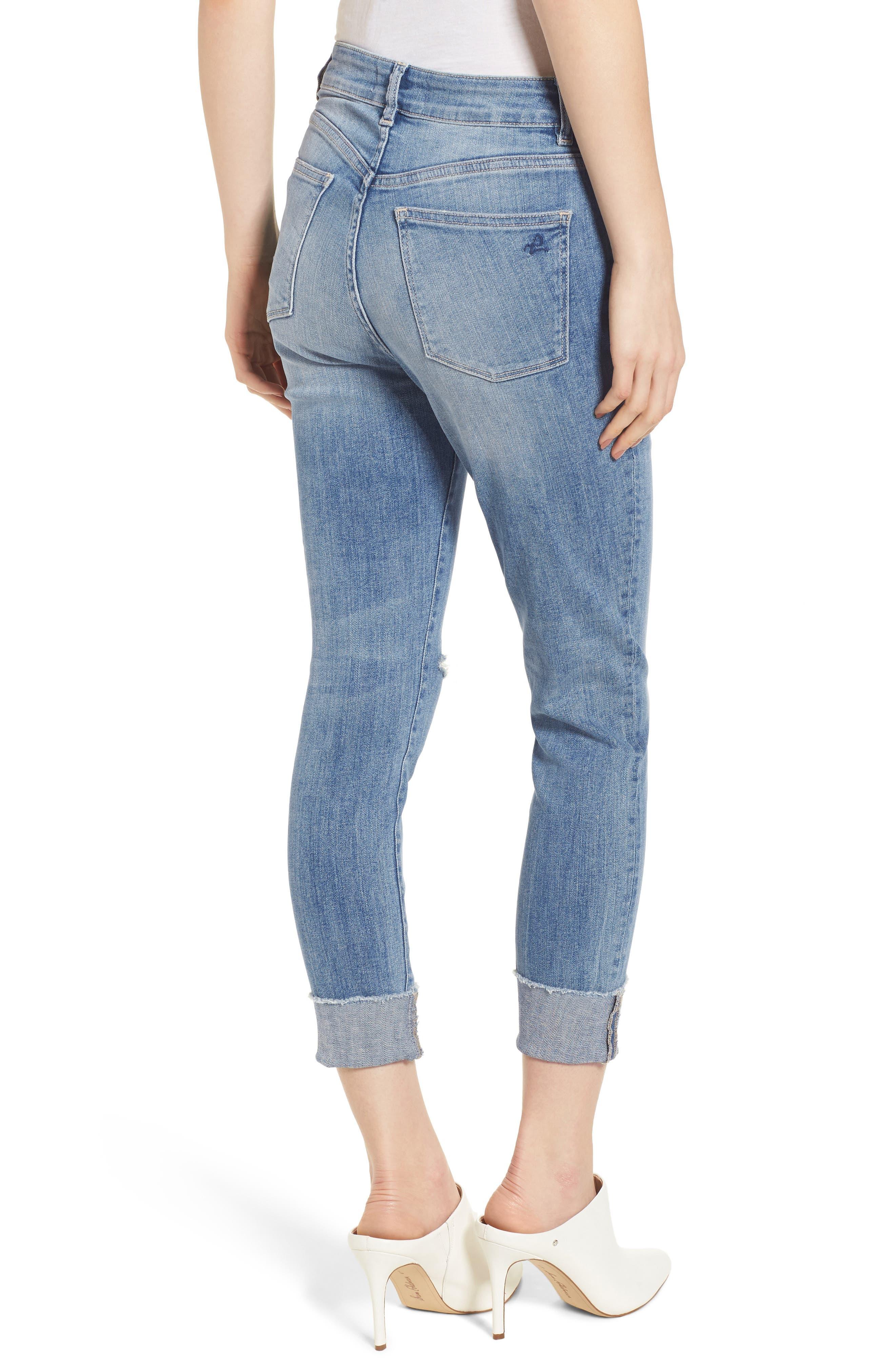 Farrow Instaslim High Waist Ankle Skinny Jeans,                             Alternate thumbnail 2, color,                             429