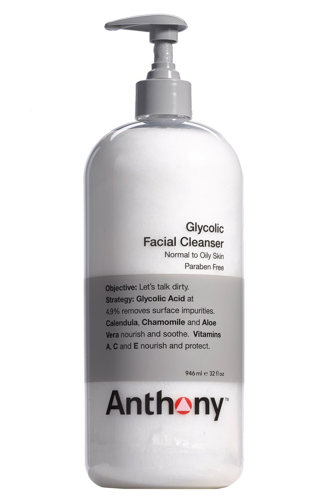 Jumbo Glycolic Facial Cleanser,                             Main thumbnail 1, color,                             NO COLOR