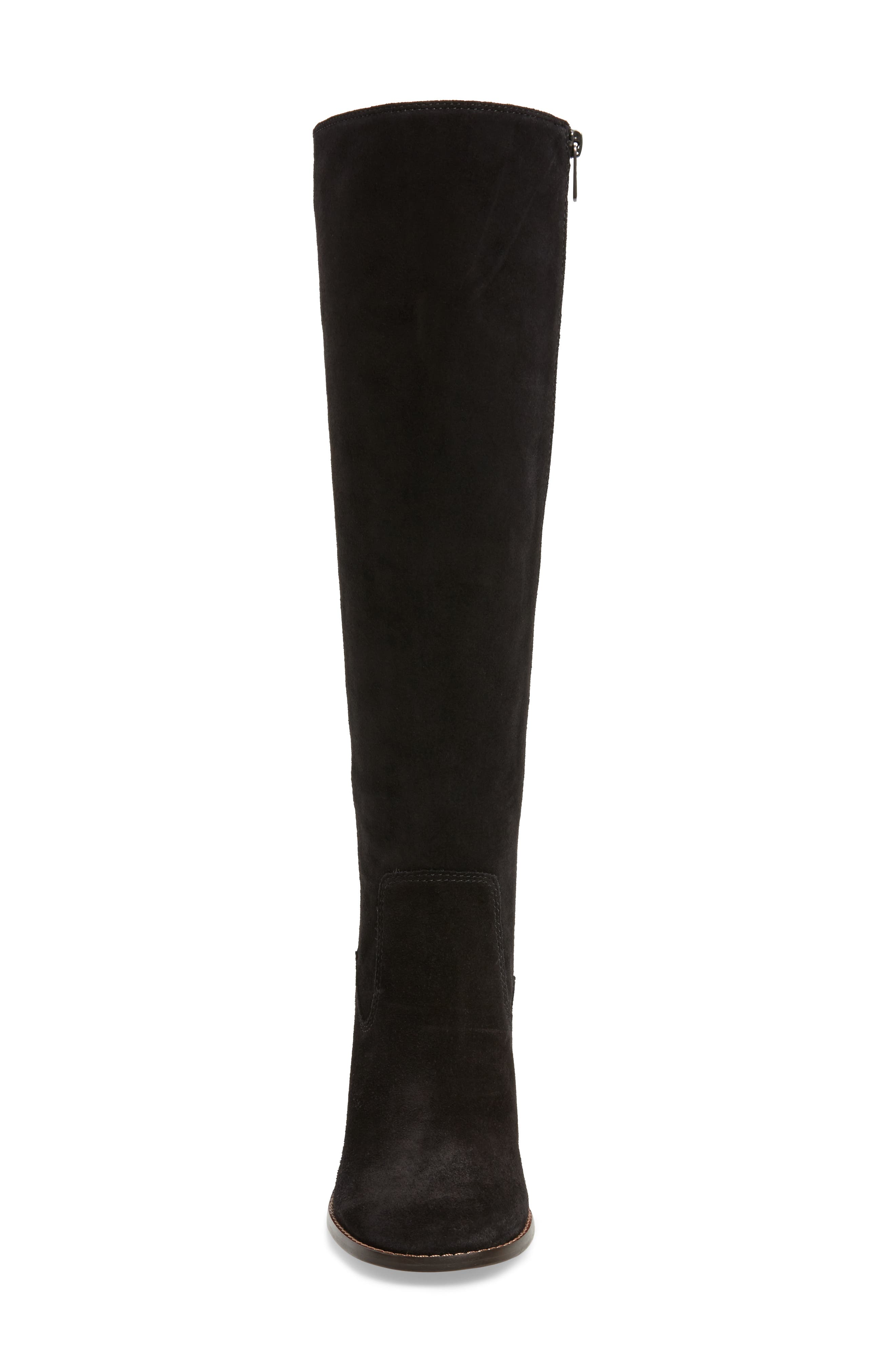 Ombré Knee High Boot,                             Alternate thumbnail 4, color,                             001