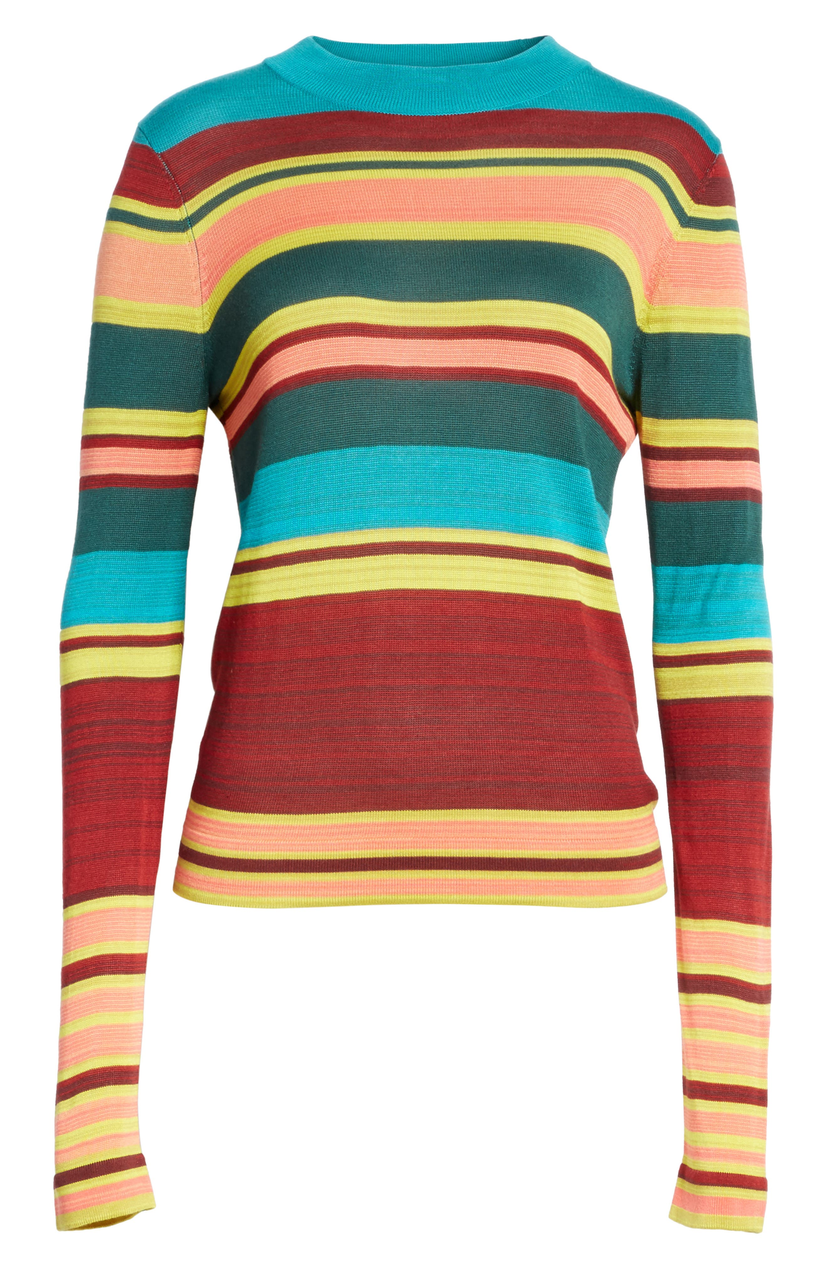 Show Off Your Stripes Sweater,                             Alternate thumbnail 6, color,                             300