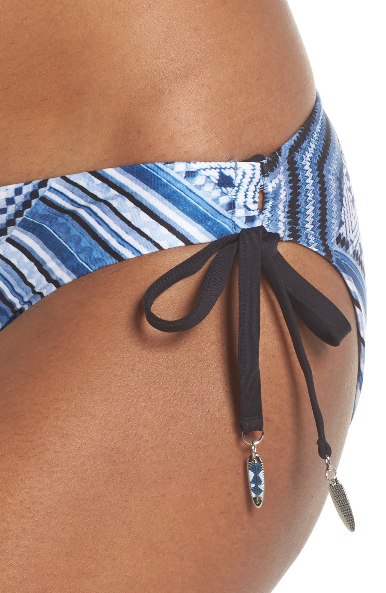 Desert Tribe Triangle Bikini Top,                             Alternate thumbnail 4, color,                             400