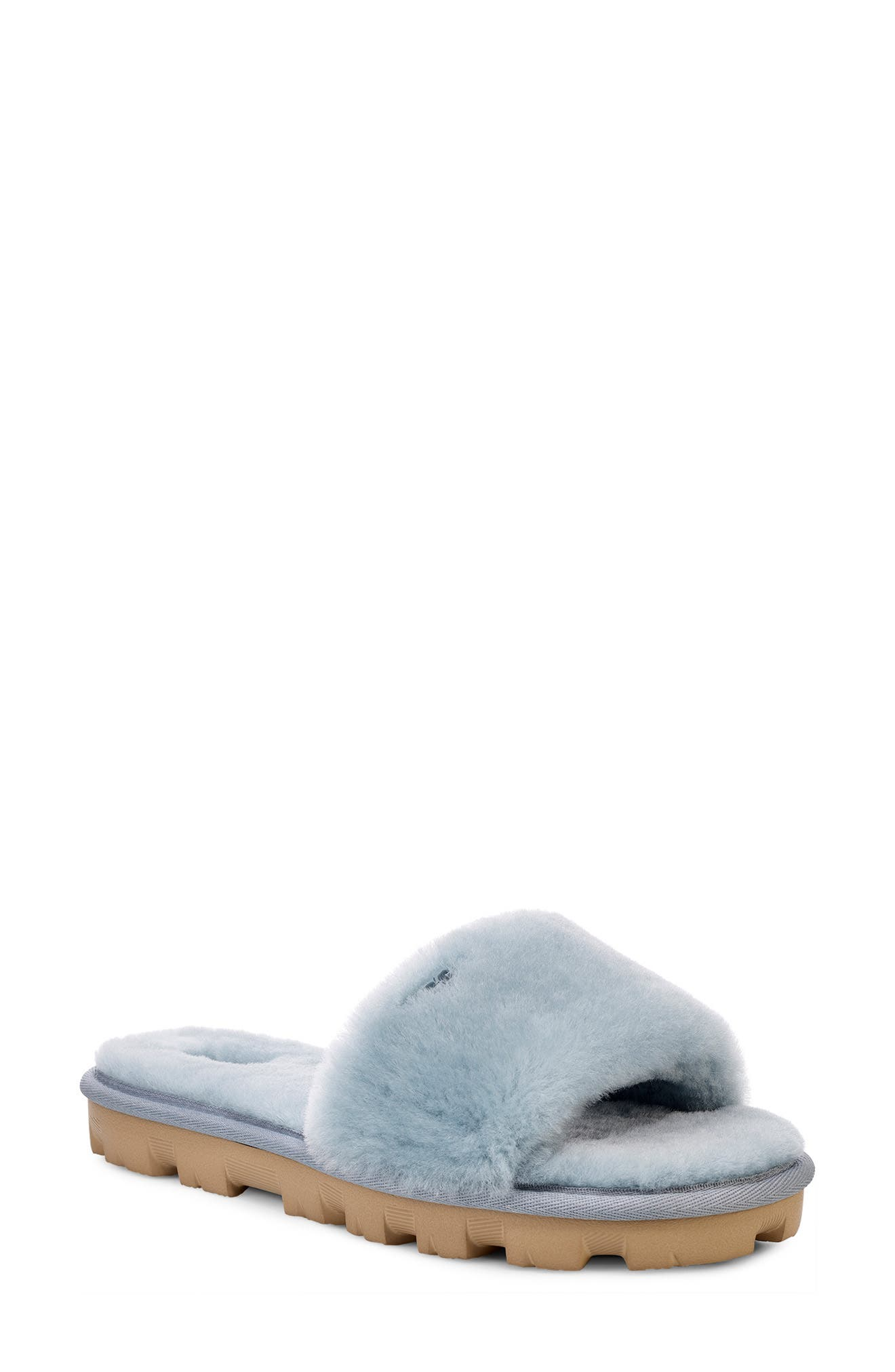 Ugg Cosette Genuine Shearling Slipper, Blue