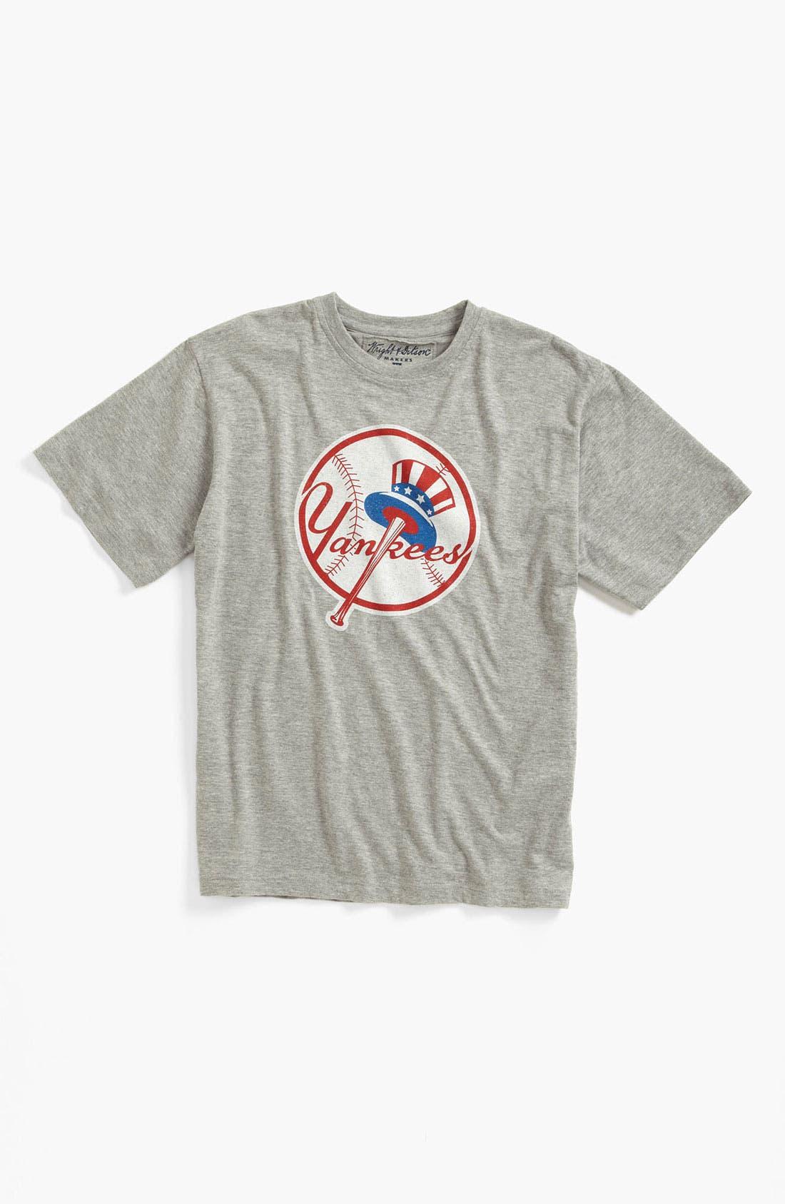 'New York Yankees' T-Shirt,                             Main thumbnail 1, color,