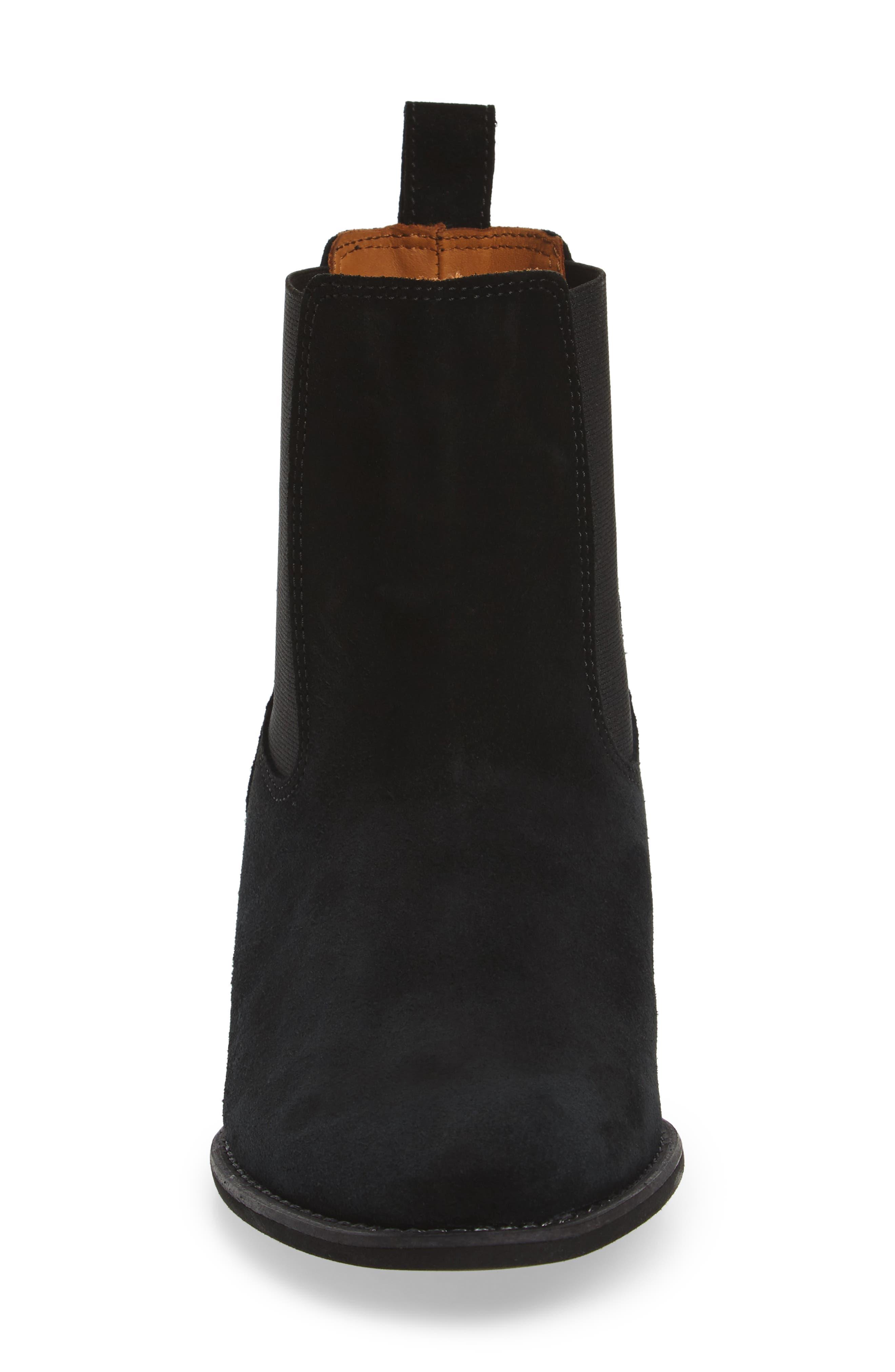 Original Refined Water Resistant Chelsea Boot,                             Alternate thumbnail 4, color,                             001
