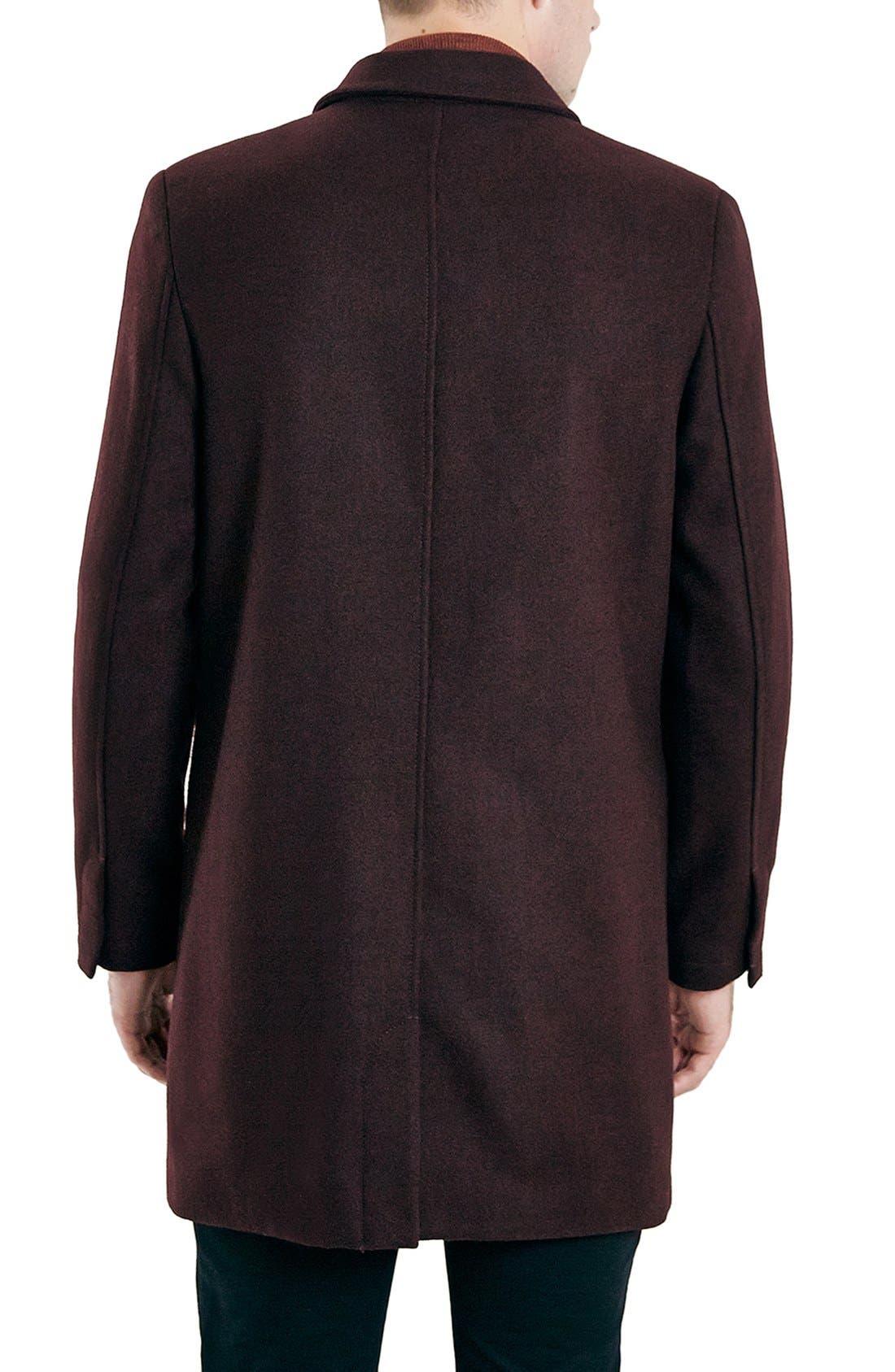 Burgundy Topcoat,                             Alternate thumbnail 4, color,                             930
