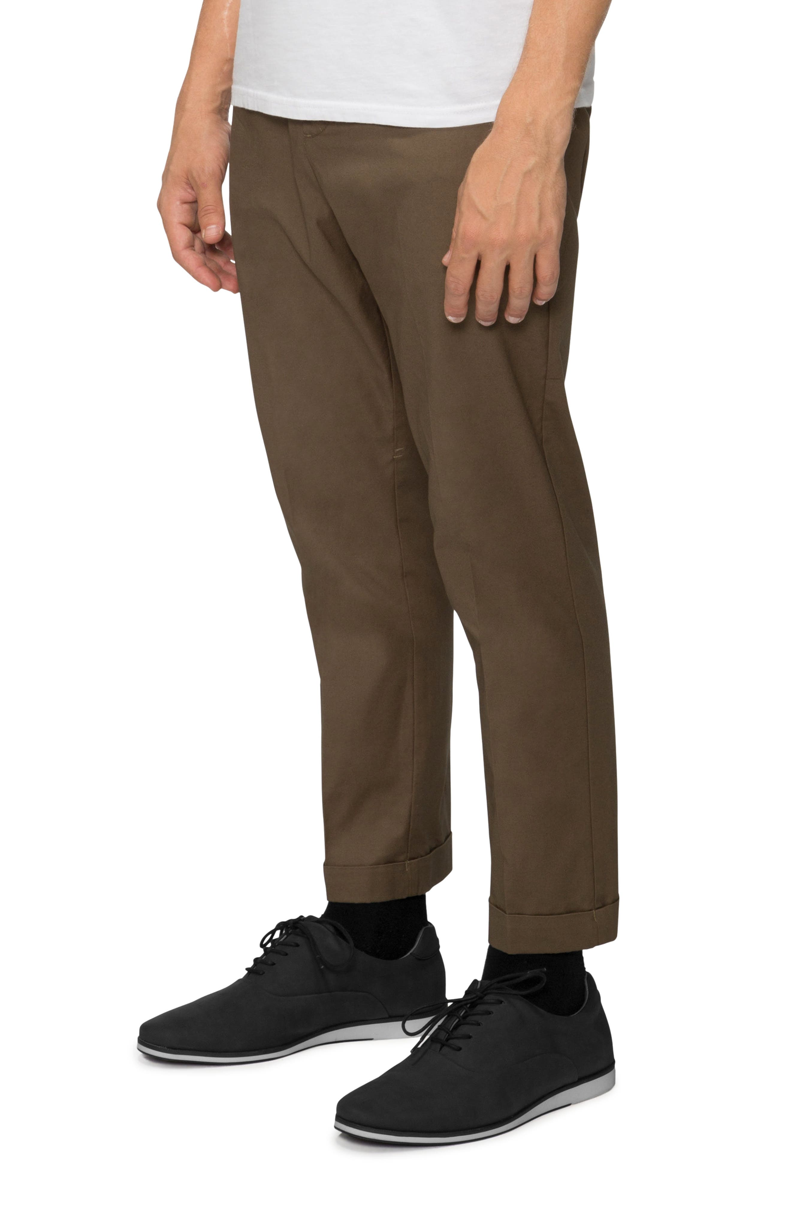 'Arroyo' Crop Stretch Chinos,                             Alternate thumbnail 14, color,