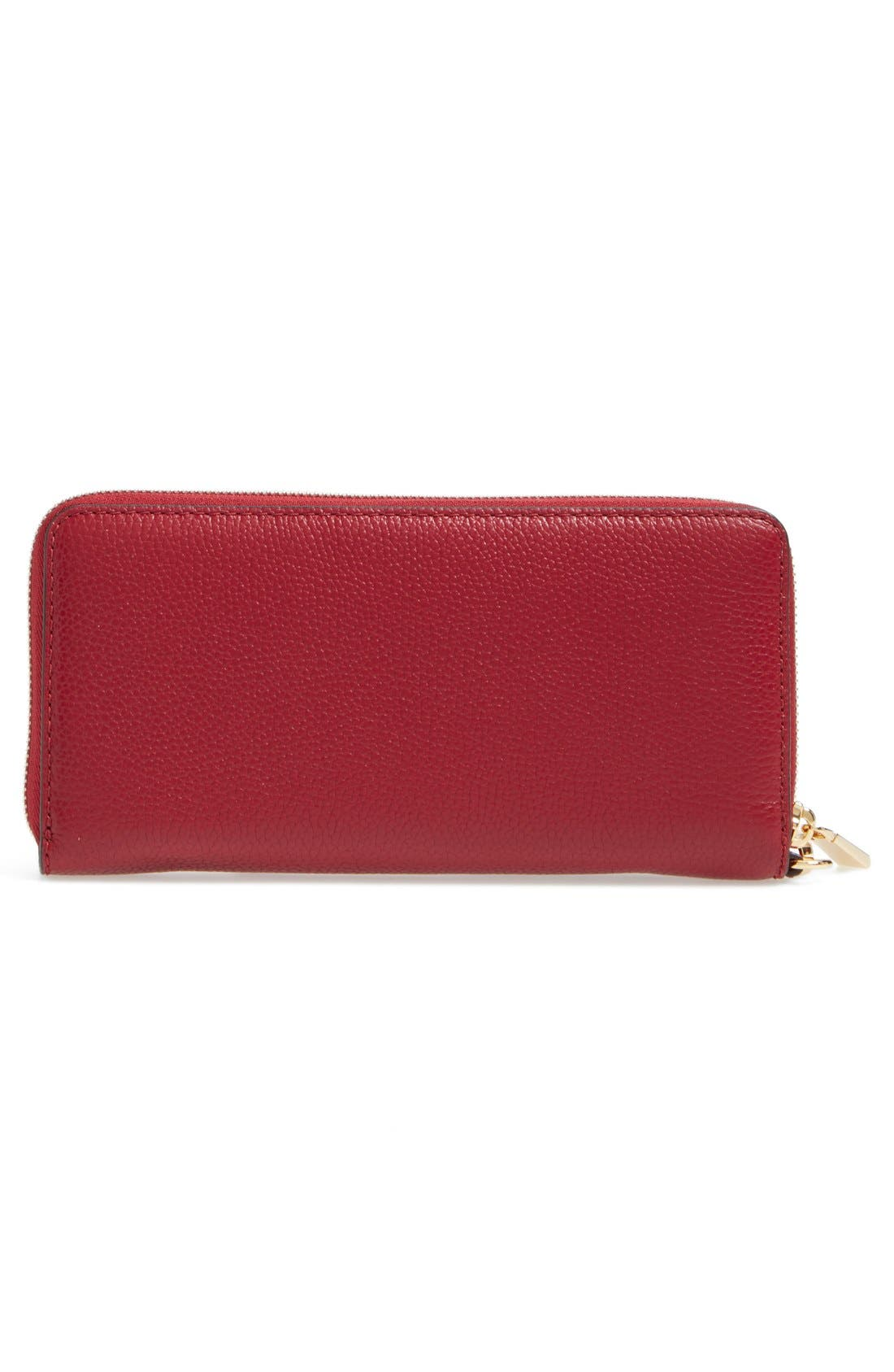 'Mercer' Leather Continental Wallet,                             Alternate thumbnail 38, color,