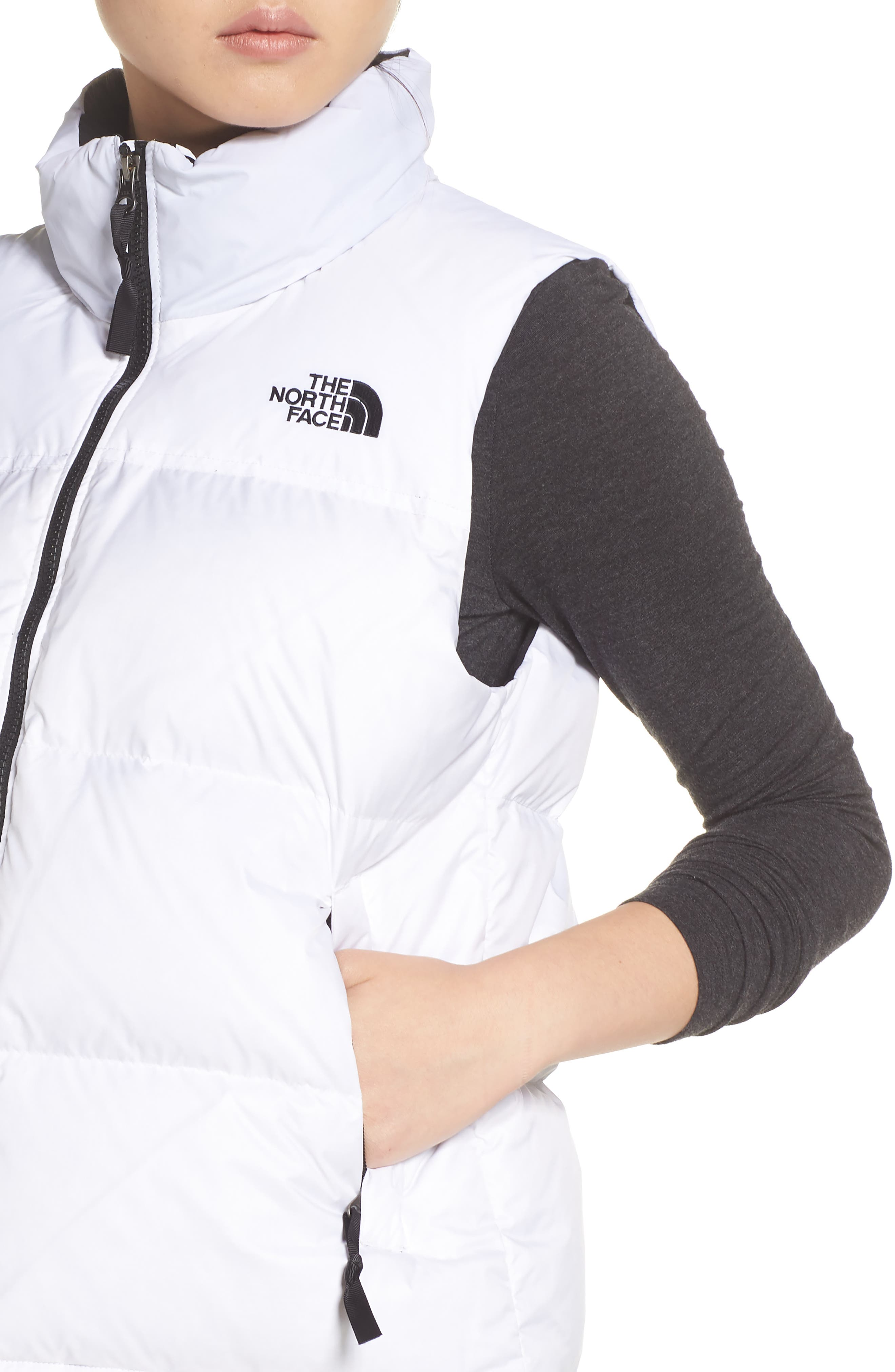 THE NORTH FACE,                             Nuptse 1996 Packable 700-Fill Power Down Vest,                             Alternate thumbnail 5, color,                             TNF WHITE