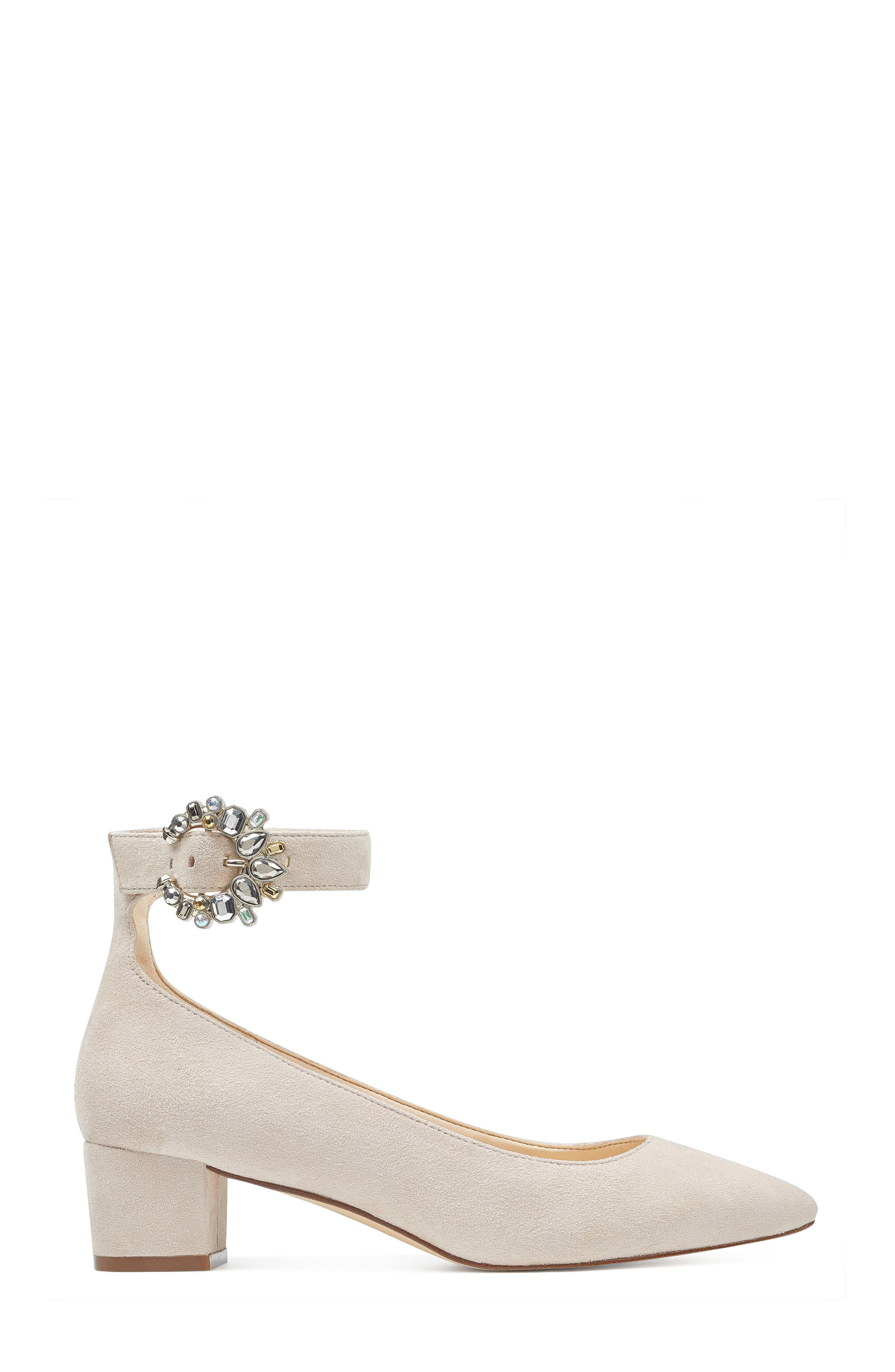 Bartly Ankle Strap Pump,                             Alternate thumbnail 8, color,