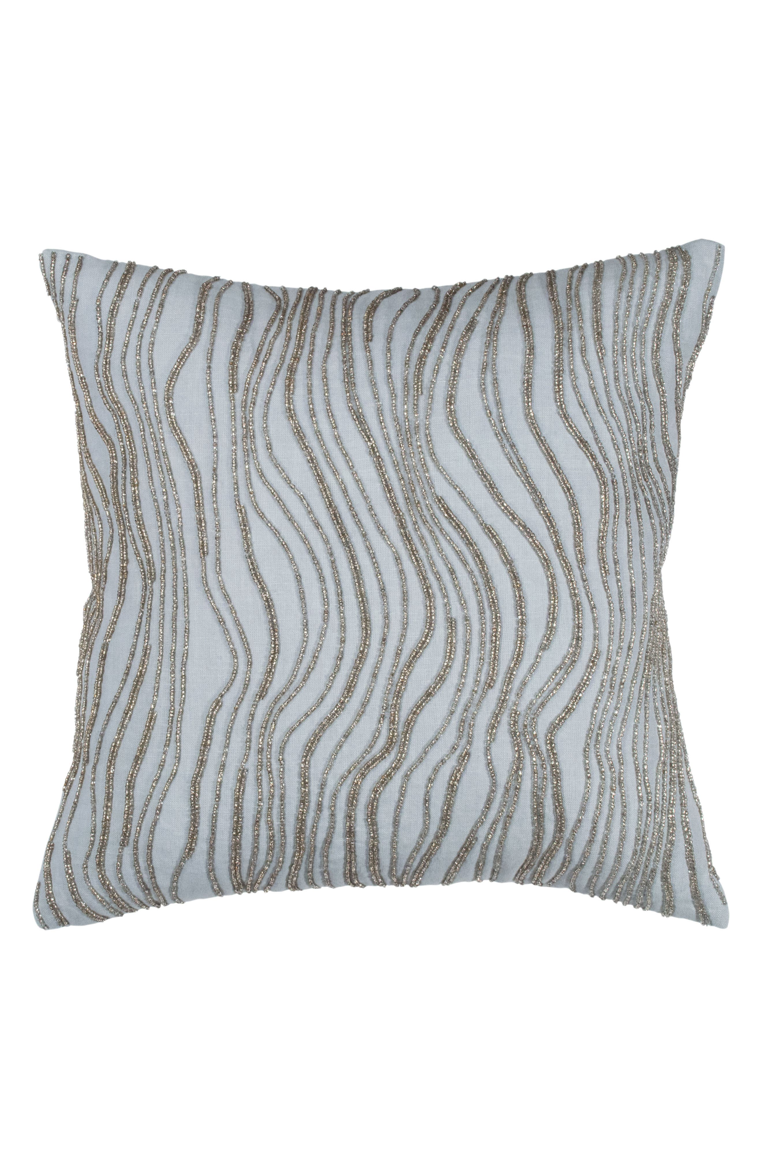 Collection Aire Beaded Accent Pillow,                             Main thumbnail 1, color,                             040