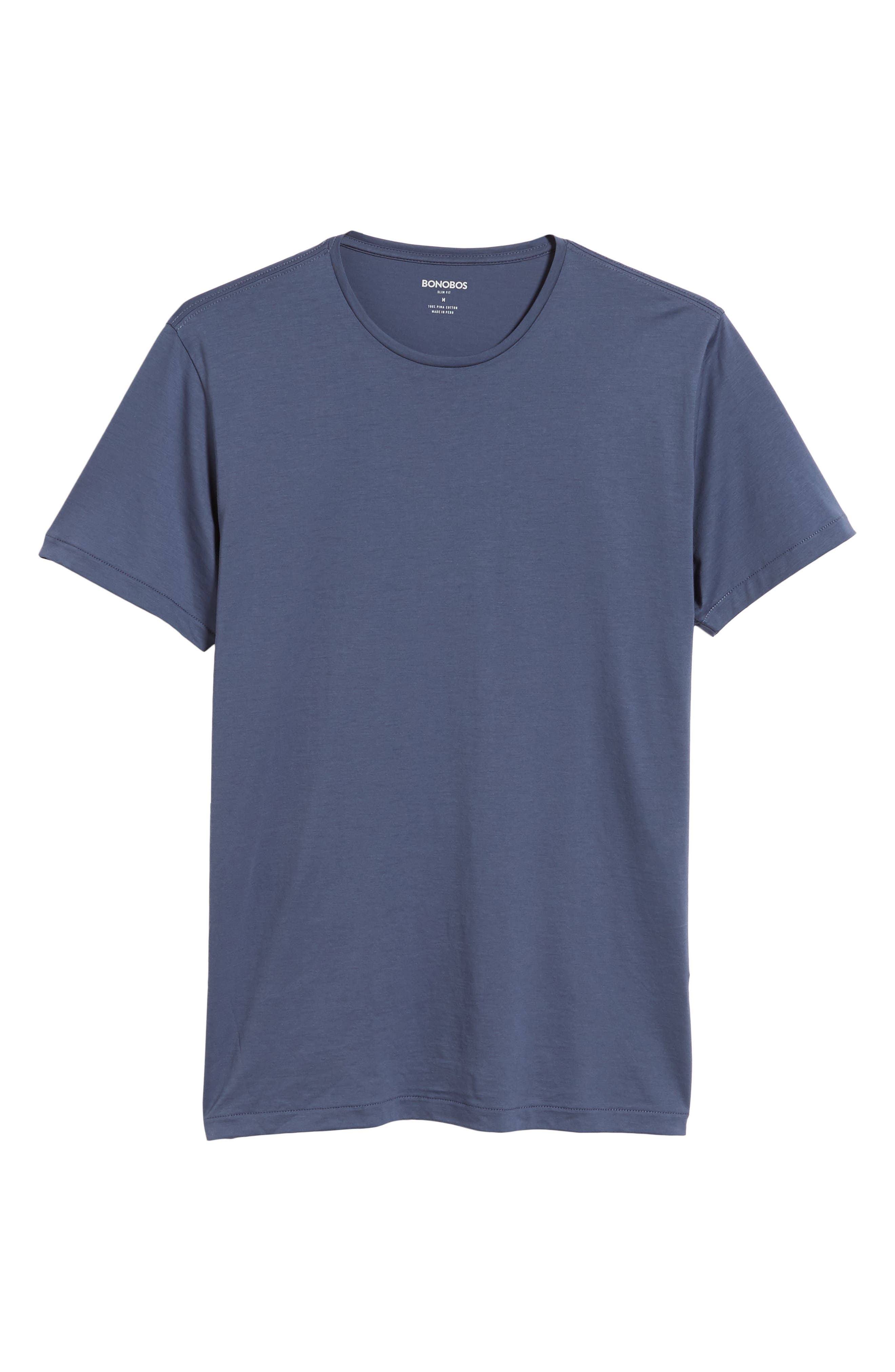 Refined T-Shirt,                             Alternate thumbnail 6, color,                             OLD BAY