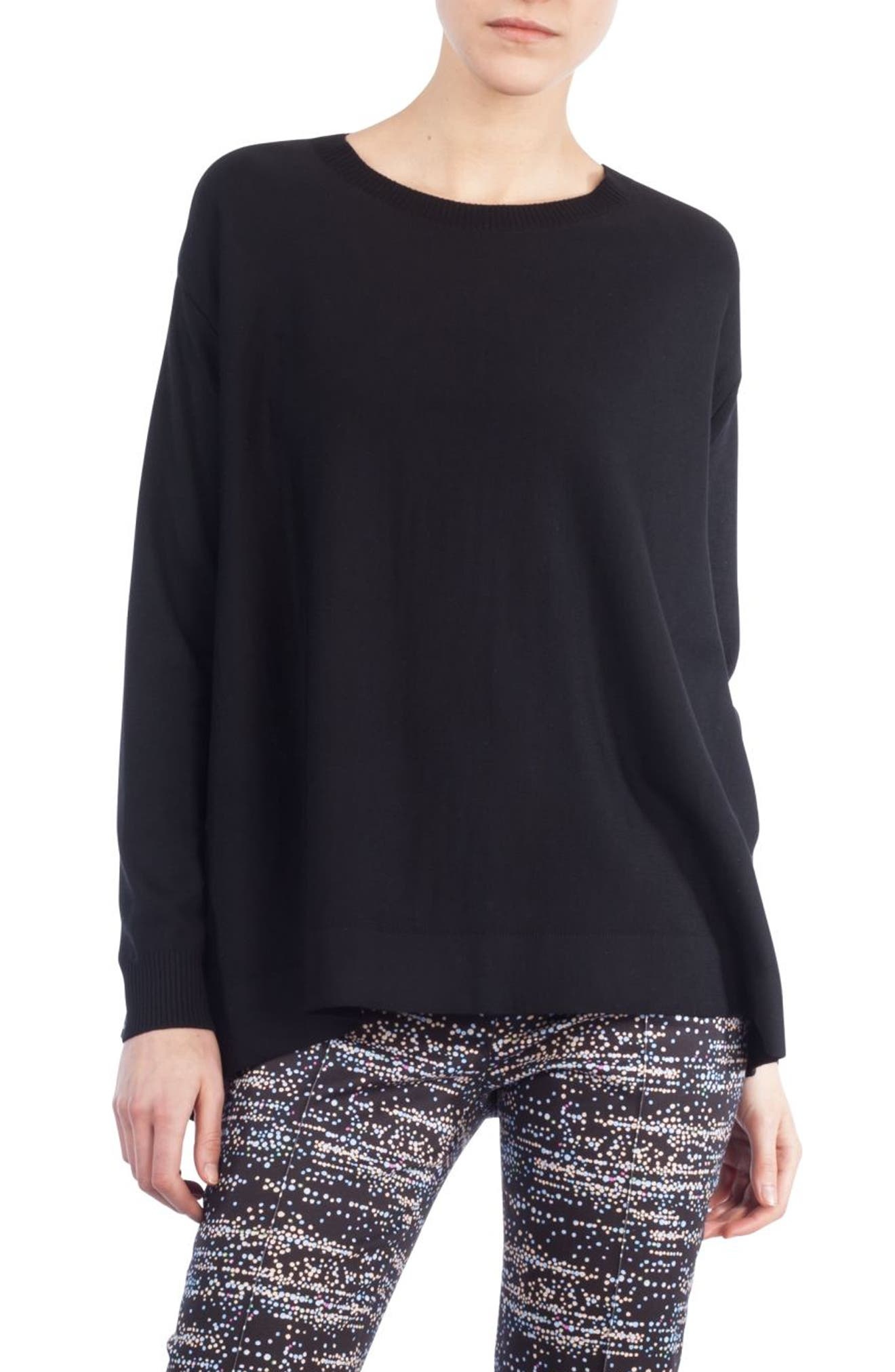 Twilight Print Wool Pullover,                         Main,                         color, 009