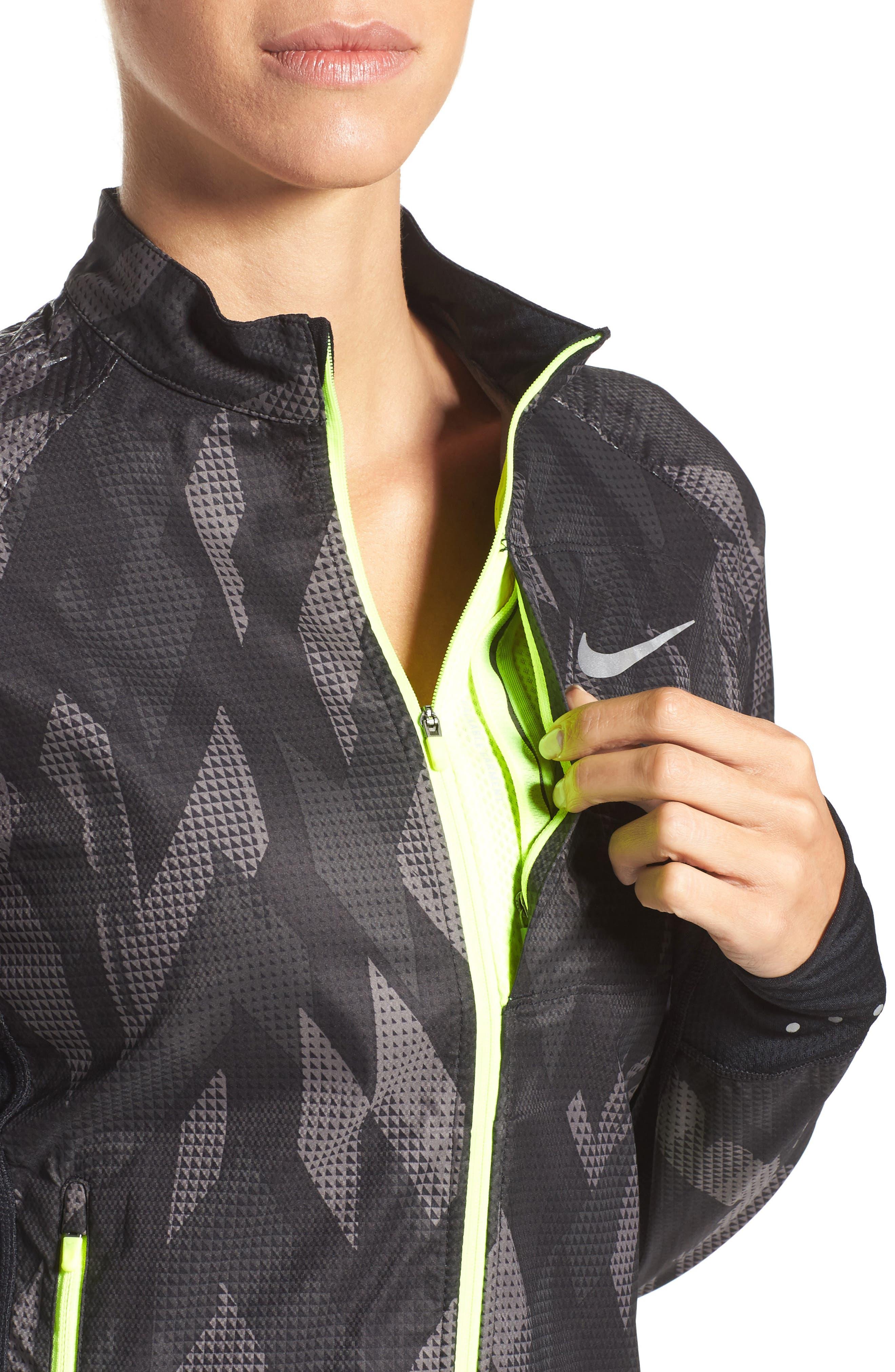Flex Running Jacket,                             Alternate thumbnail 4, color,