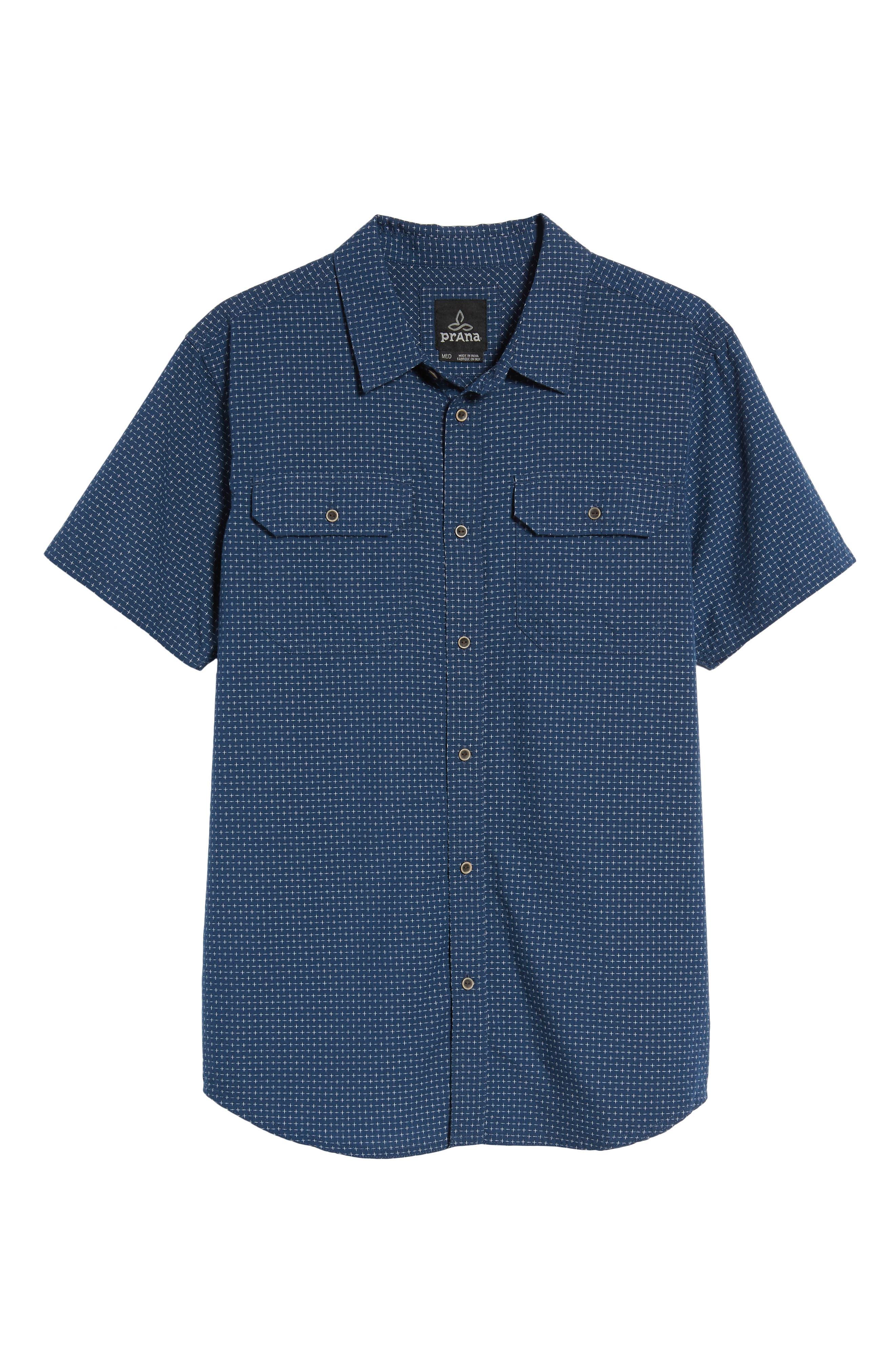 Blakely Slim Fit Short Sleeve Sport Shirt,                             Alternate thumbnail 12, color,