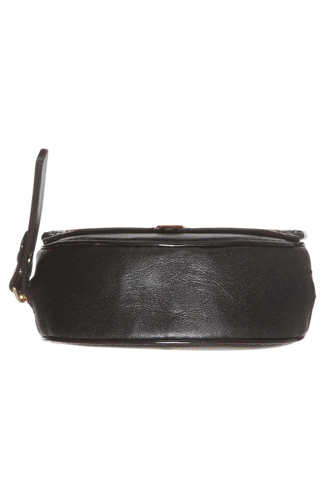 KATE SPADE NEW YORK,                             kate spade new york 'blaze a trail - fox' leather coin purse,                             Alternate thumbnail 5, color,                             001