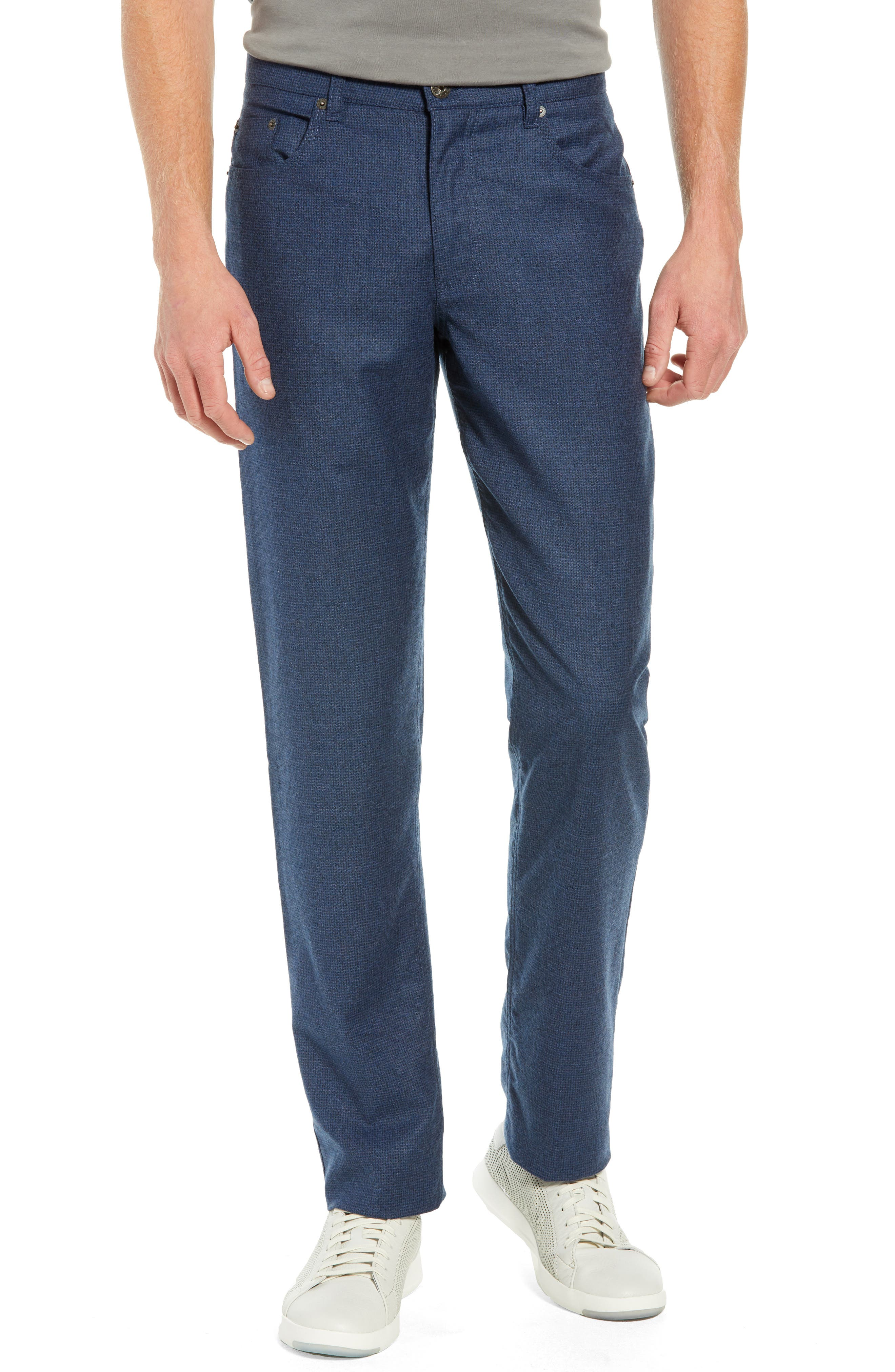 Cadiz Five-Pocket Stretch Wool Trousers,                             Main thumbnail 1, color,                             MIDNIGHT