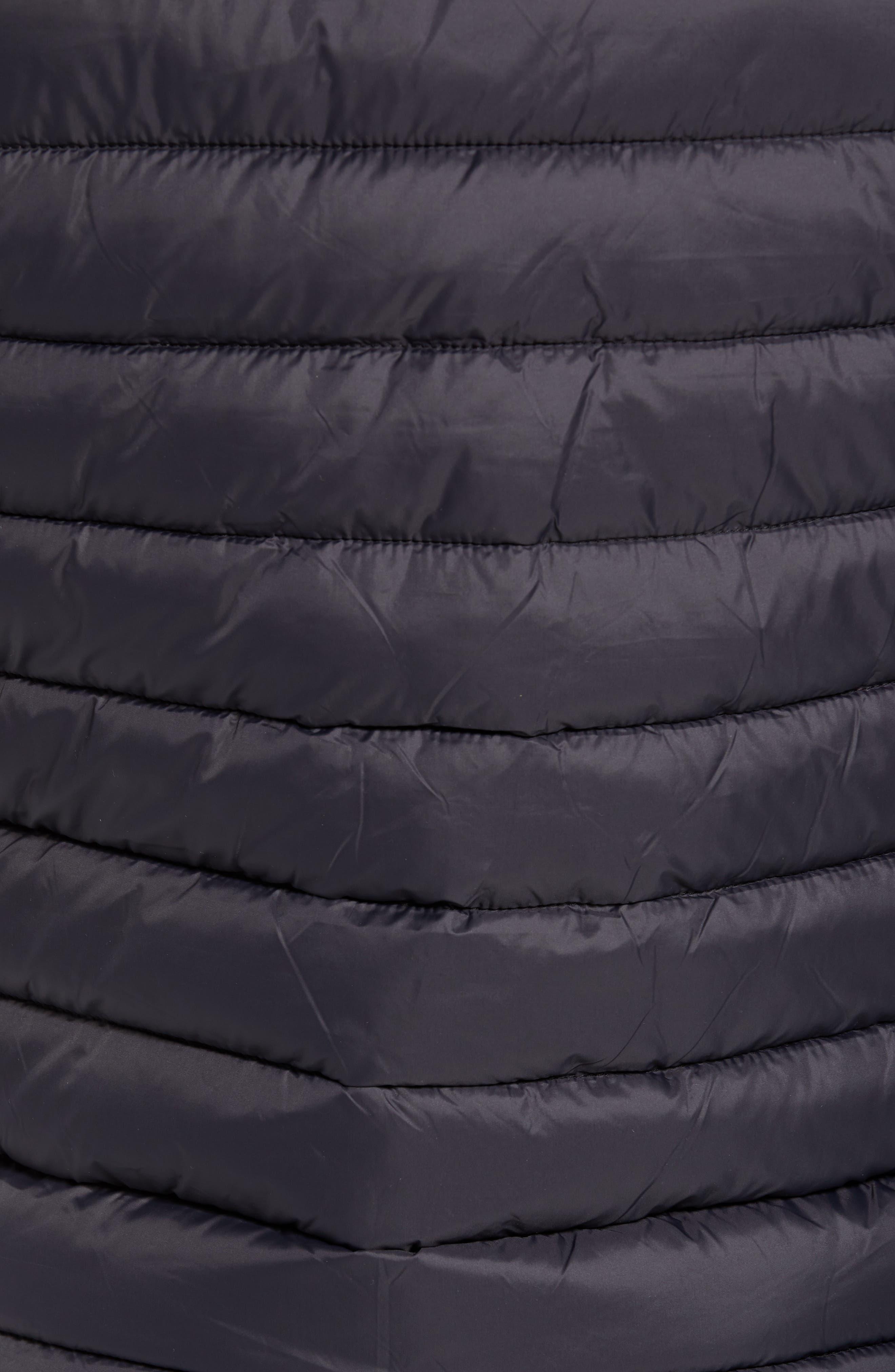 Lightweight Packable Vest,                             Alternate thumbnail 7, color,                             BLACK