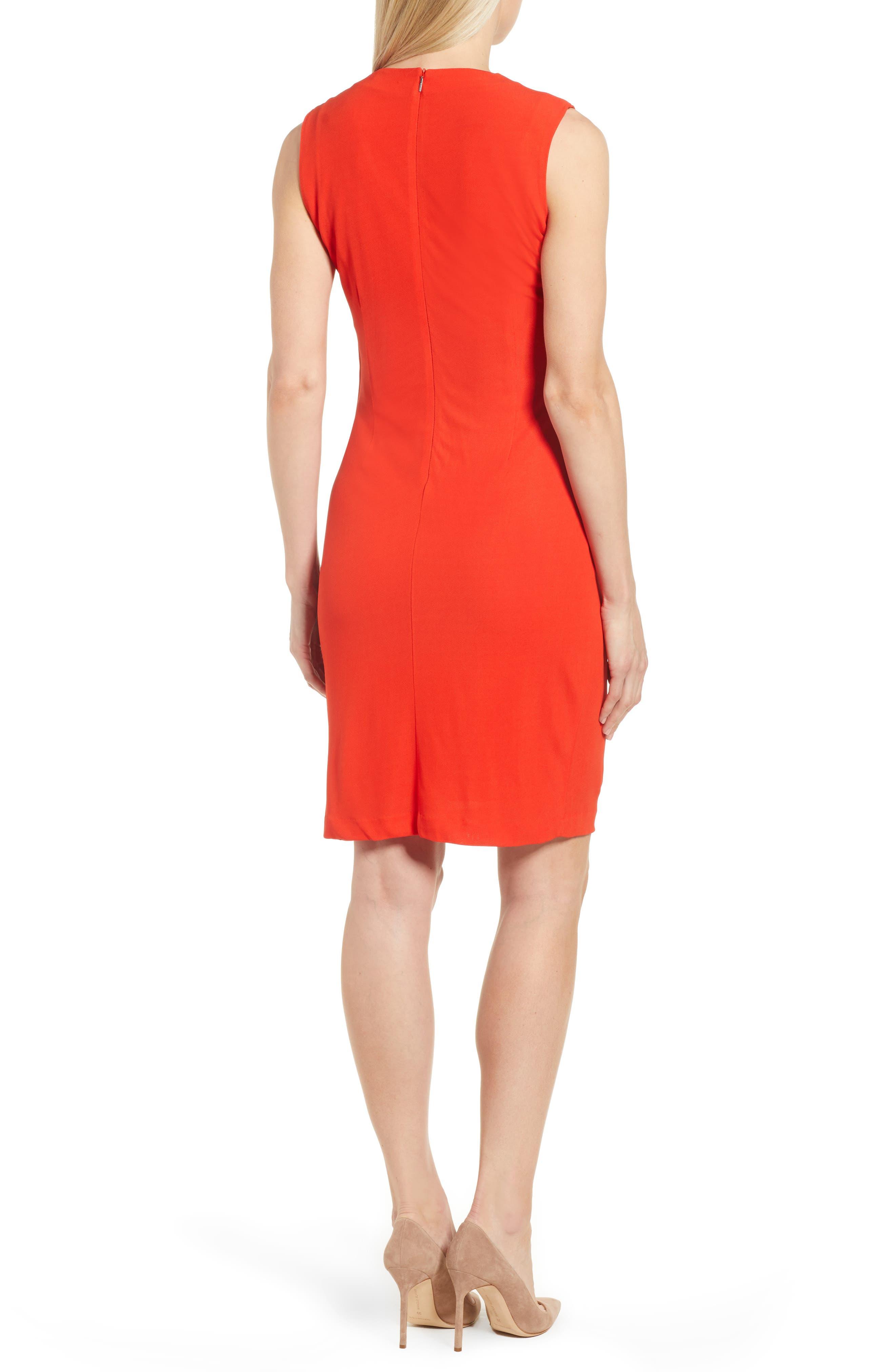 Erela Ruched Sheath Dress,                             Alternate thumbnail 2, color,                             824
