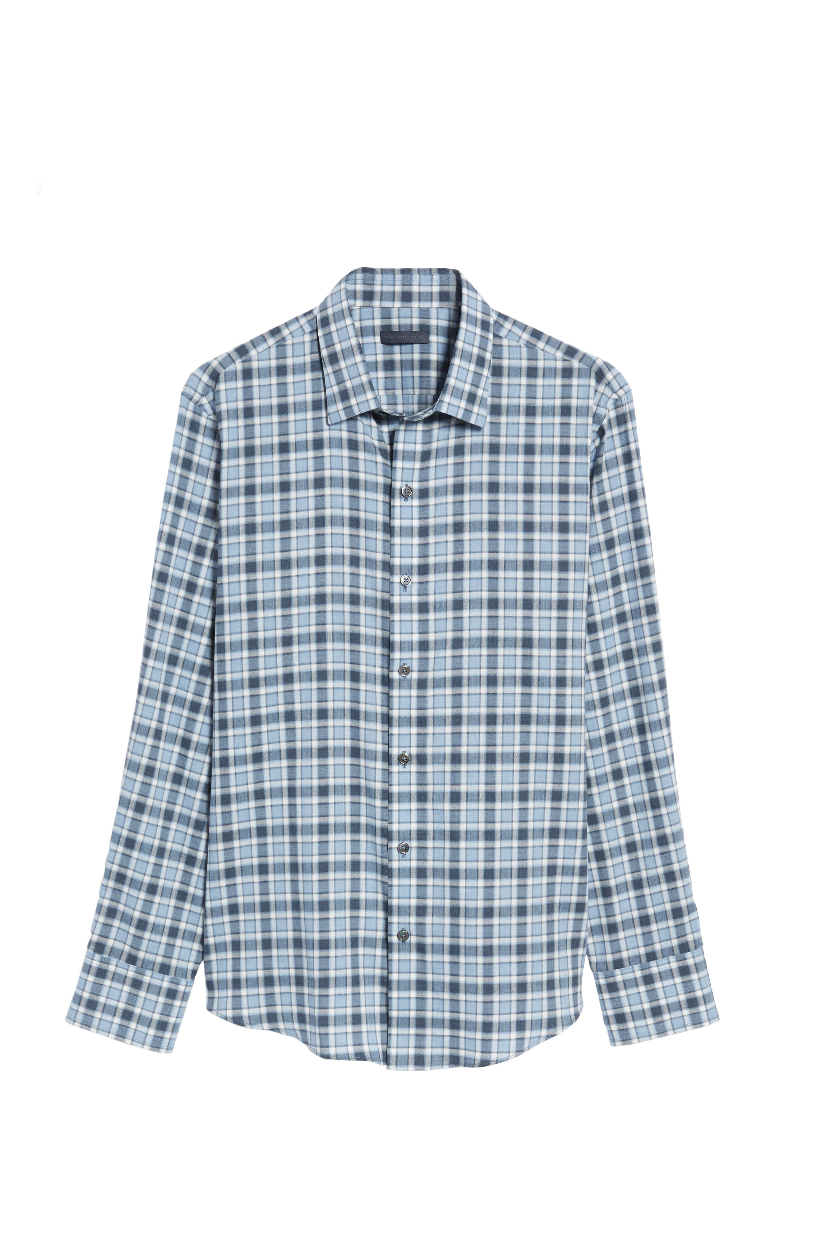 Lobban Slim Fit Check Sport Shirt,                             Alternate thumbnail 6, color,                             452