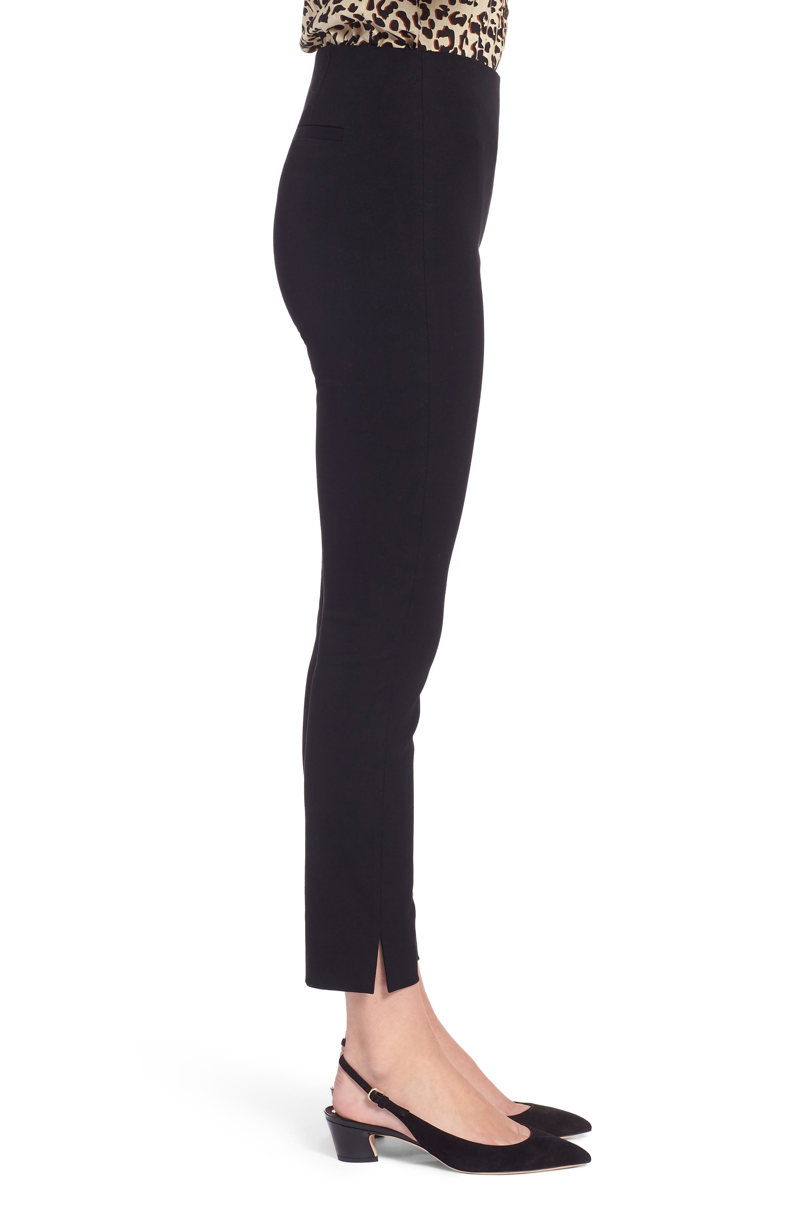 Skinny Stretch Pants,                             Alternate thumbnail 3, color,                             001