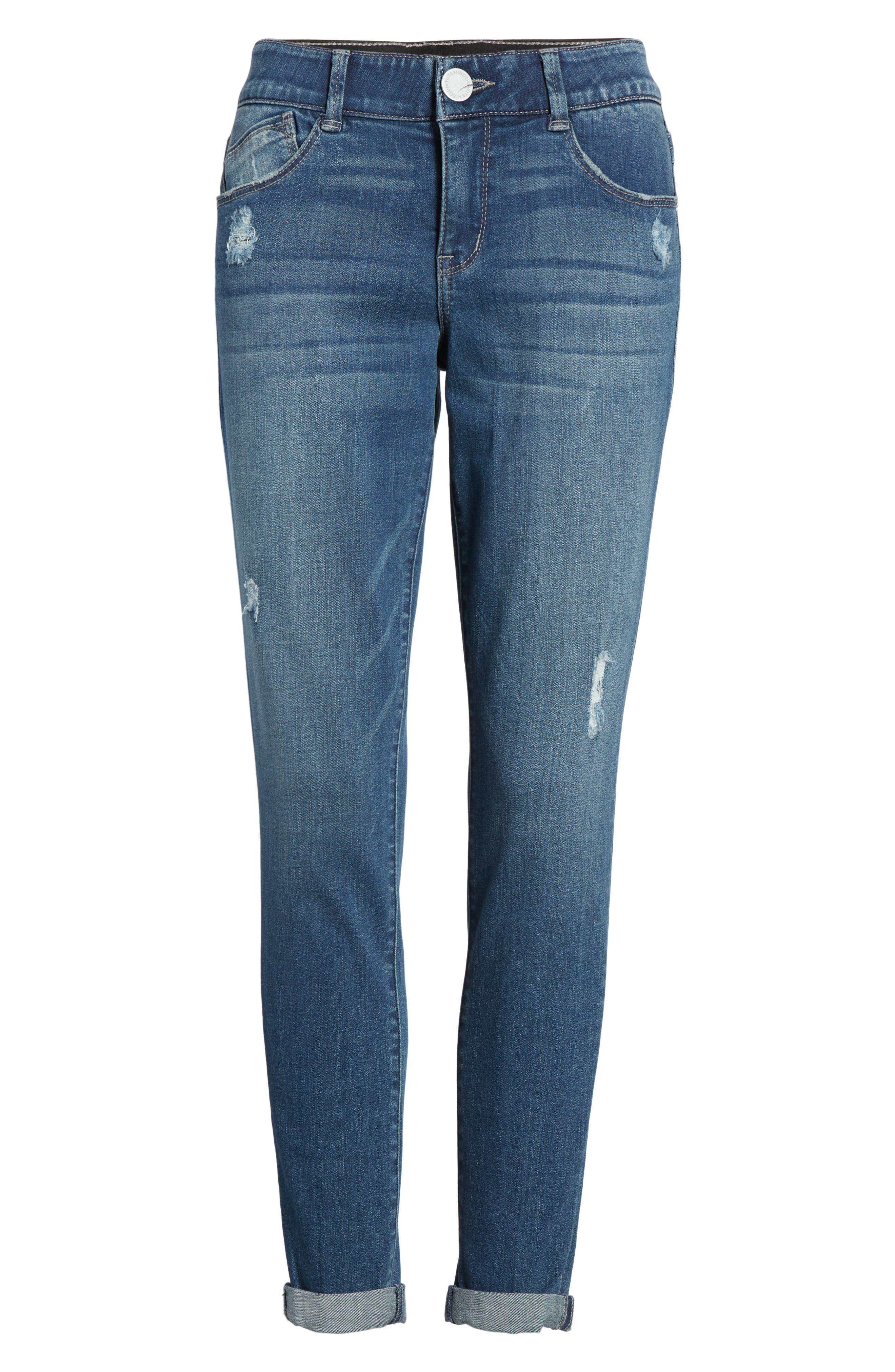 Ab-solution Boyfriend Ankle Jeans,                             Alternate thumbnail 13, color,