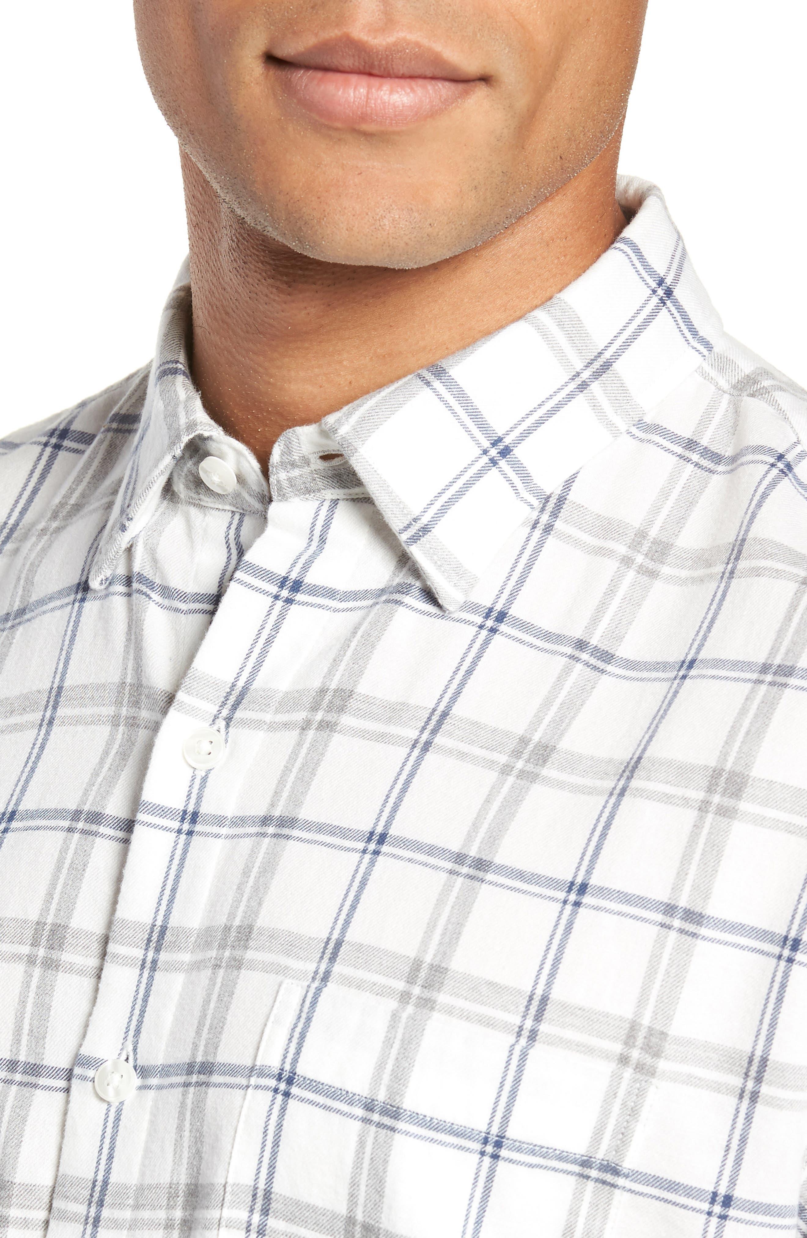 Slim Fit Brushed Twill Sport Shirt,                             Alternate thumbnail 2, color,                             400